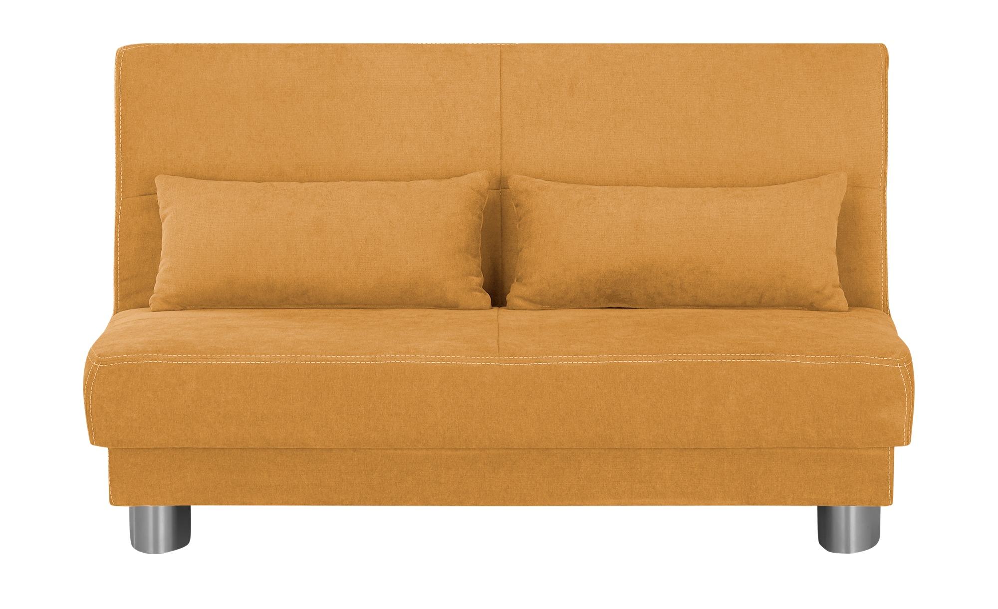 Schlafsofa  Gina ¦ orange ¦ Maße (cm): B: 120 H: 86 T: 95 Polstermöbel > Sofas > Einzelsofas - Höffner