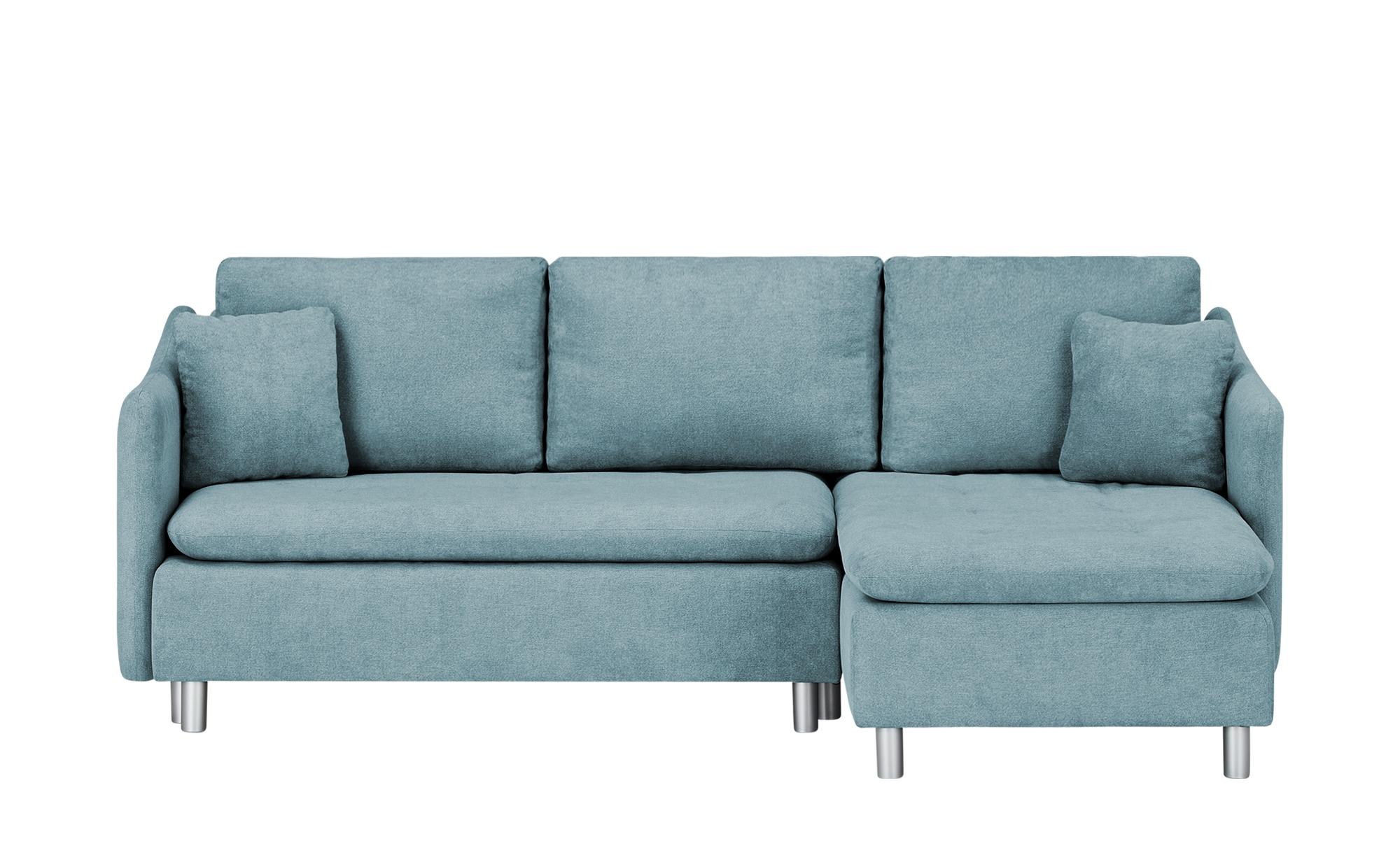 smart Ecksofa  Bonamie ¦ blau ¦ Maße (cm): H: 87 Polstermöbel > Sofas > Ecksofas - Höffner