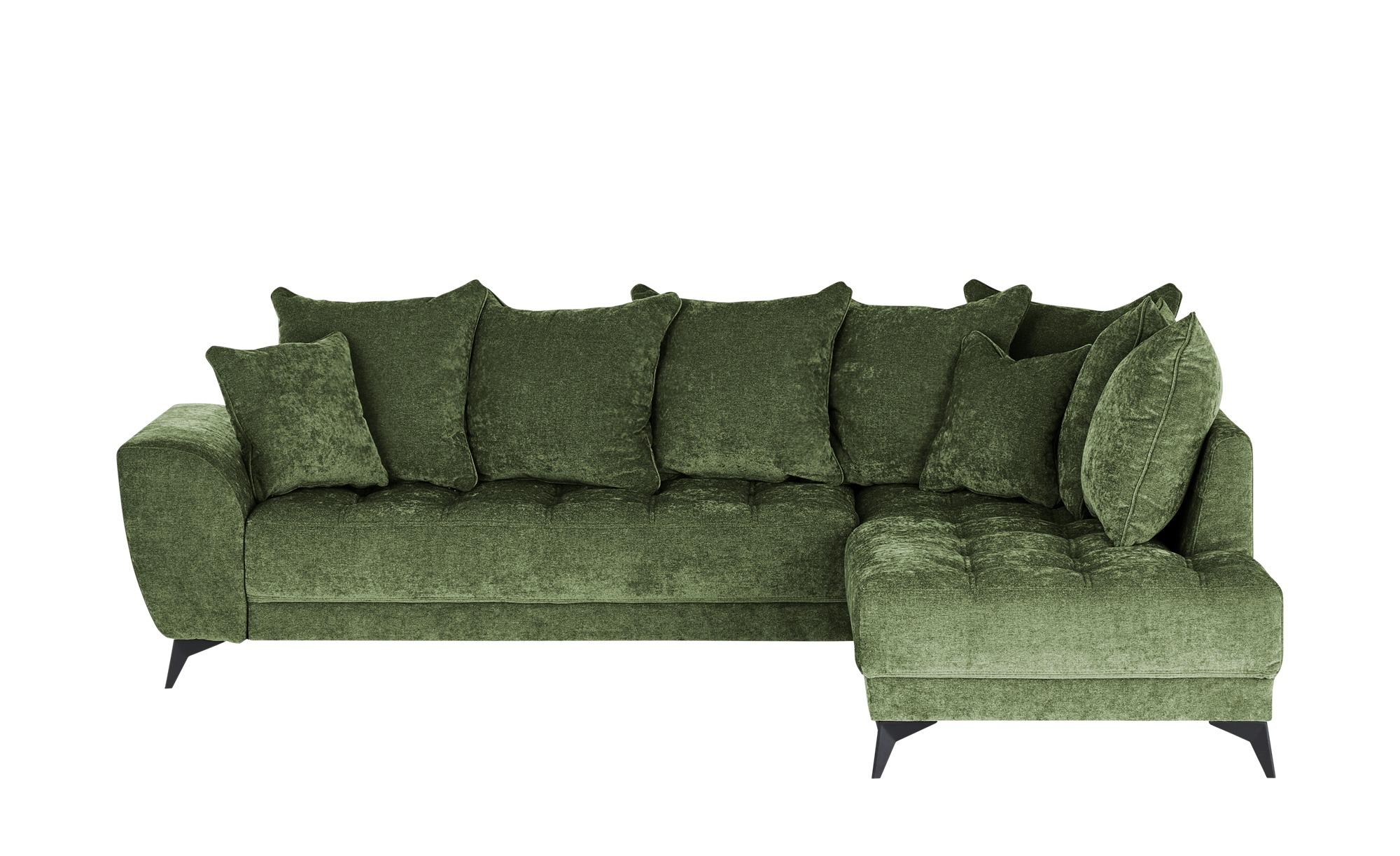 smart Ecksofa  Bella ¦ grün ¦ Maße (cm): H: 100 Polstermöbel > Sofas > Ecksofas - Höffner
