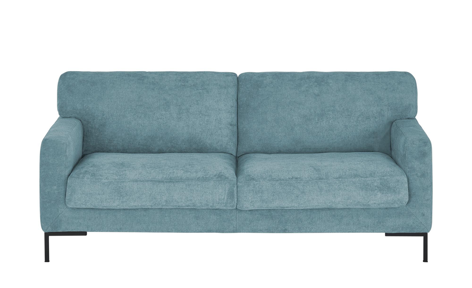 smart Sofa  Tine ¦ blau ¦ Maße (cm): B: 190 H: 82 T: 95 Polstermöbel > Sofas > 3-Sitzer - Höffner