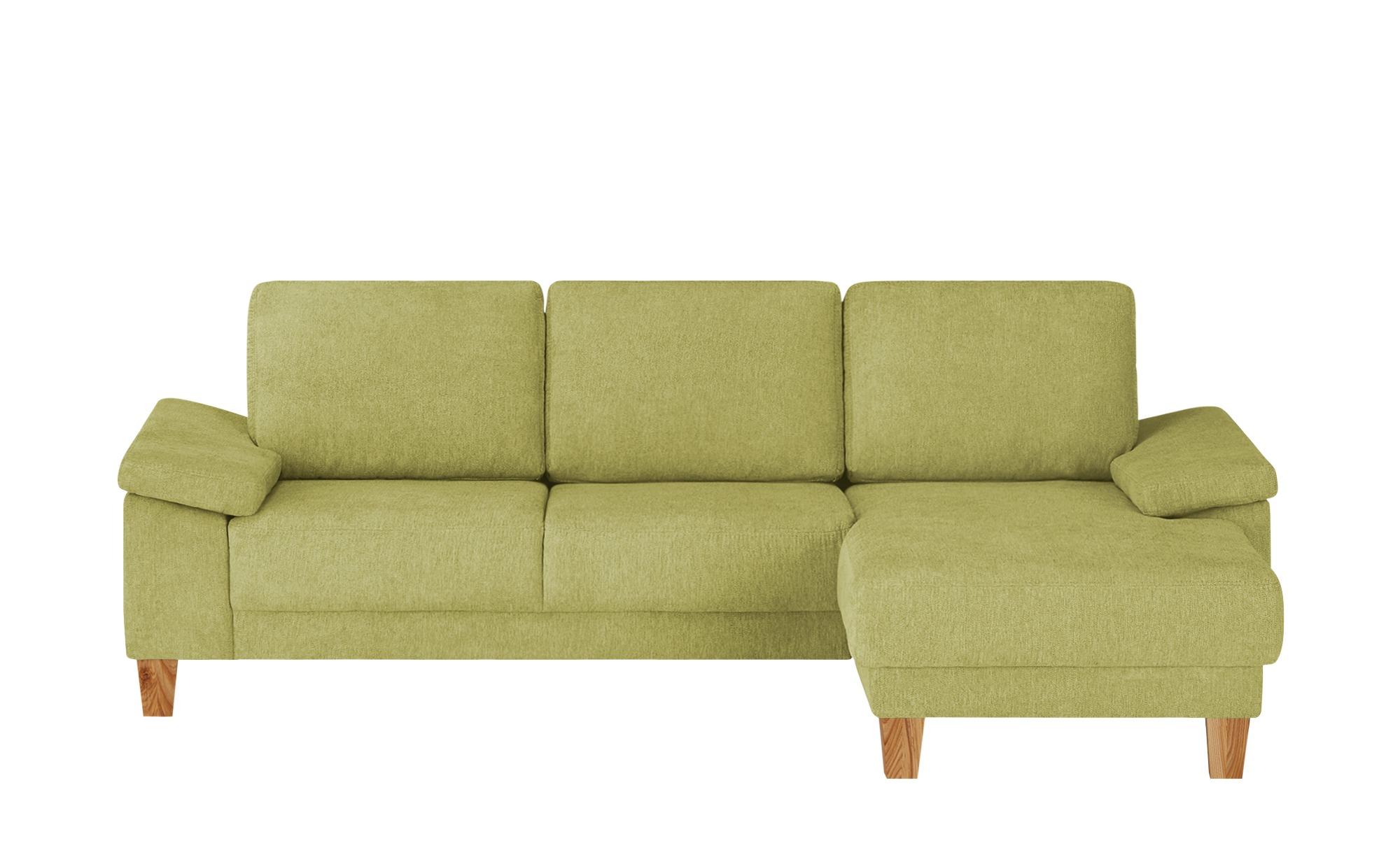 smart Ecksofa  Atara ¦ grün ¦ Maße (cm): H: 80 Polstermöbel > Sofas > Ecksofas - Höffner