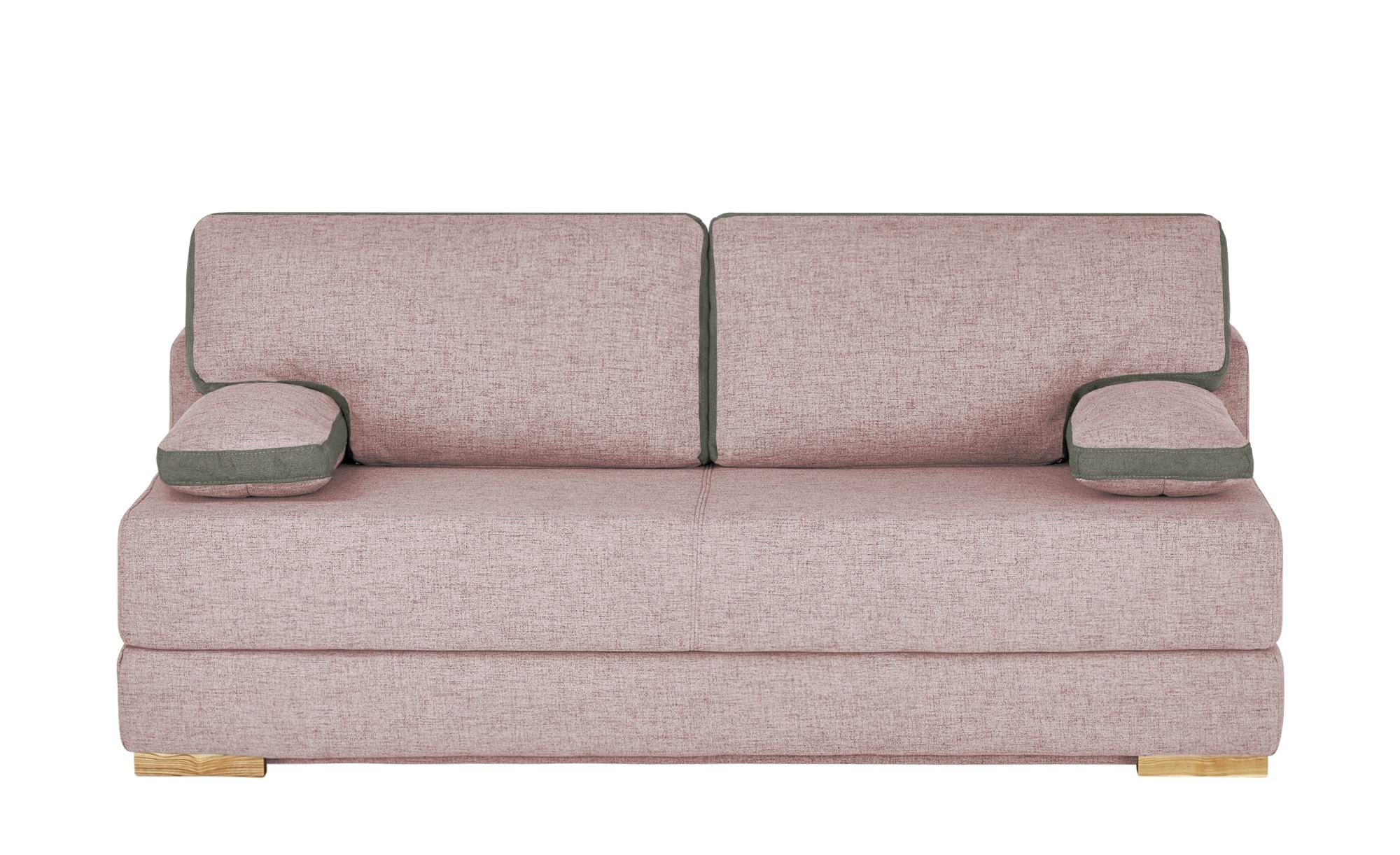 Schlafsofa   Toni ¦ rosa/pink ¦ Maße (cm): B: 202 H: 95 T: 98 Polstermöbel > Sofas > Einzelsofas - Höffner