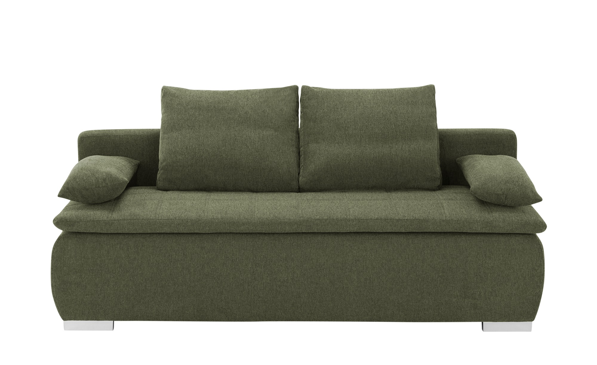 smart Schlafsofa  Leonie ¦ grün ¦ Maße (cm): B: 198 H: 92 T: 90 Polstermöbel > Sofas > Einzelsofas - Höffner