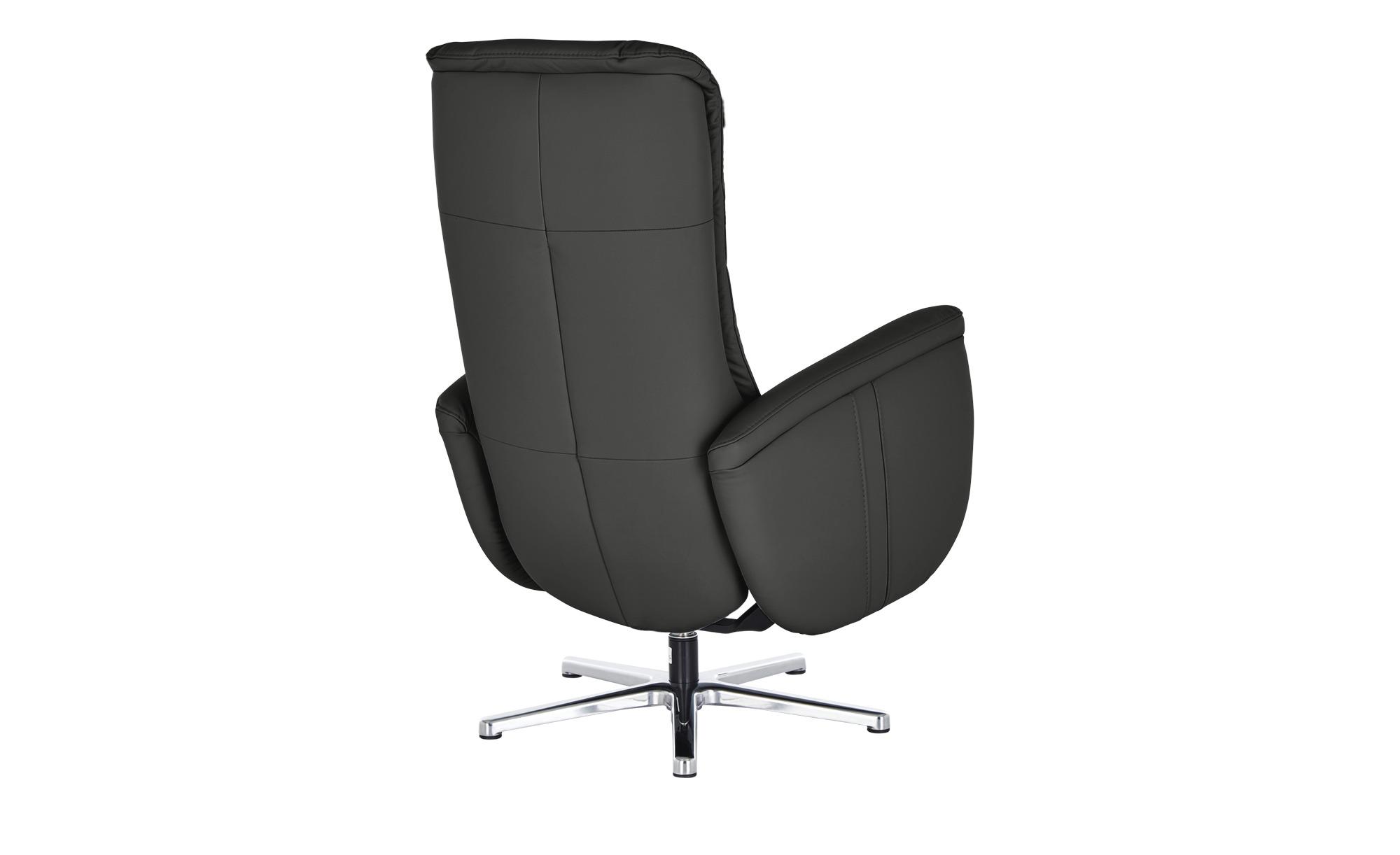 meinSofa Relaxsessel  Franzi-L ¦ schwarz ¦ Maße (cm): B: 71 H: 112 T: 83 Polstermöbel > Sessel > Fernsehsessel - Höffner
