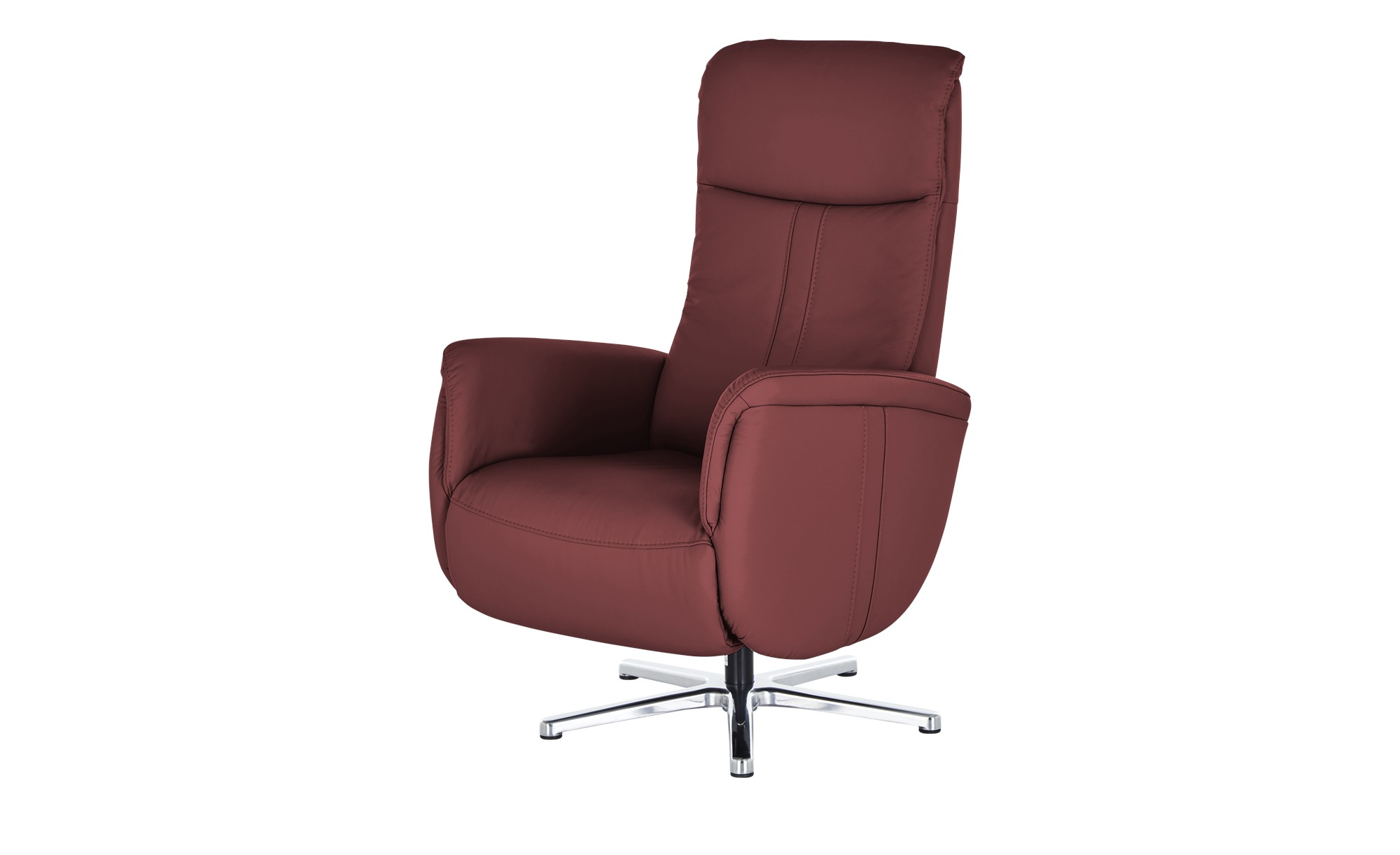 meinSofa Relaxsessel  Franzi-L ¦ rot ¦ Maße (cm): B: 71 H: 112 T: 83 Polstermöbel > Sessel > Fernsehsessel - Höffner | Wohnzimmer > Sessel > Relaxsessel | Rot | Leder | Möbel Höffner DE