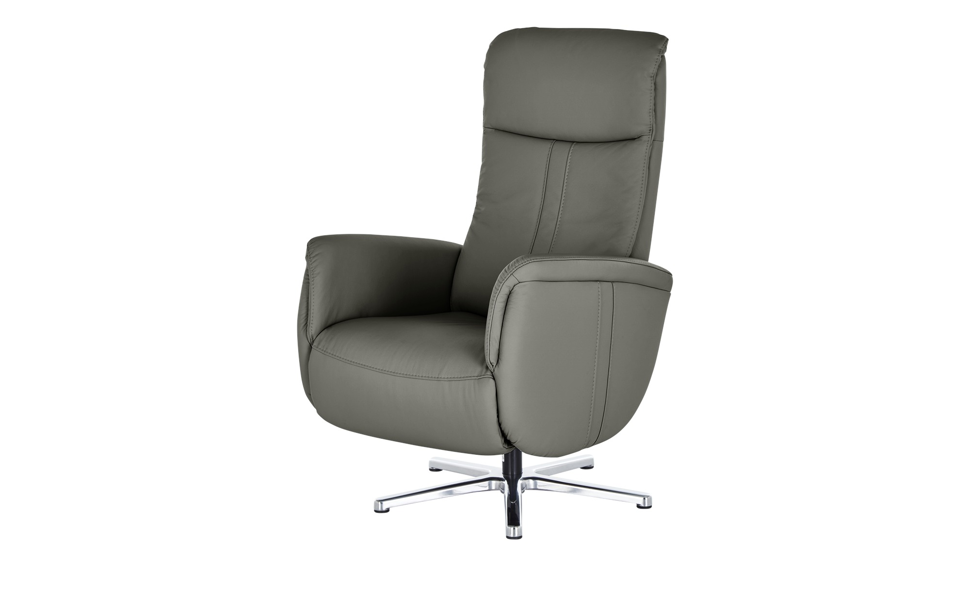 meinSofa Relaxsessel  Franzi-L ¦ grau ¦ Maße (cm): B: 71 H: 112 T: 83 Polstermöbel > Sessel > Fernsehsessel - Höffner