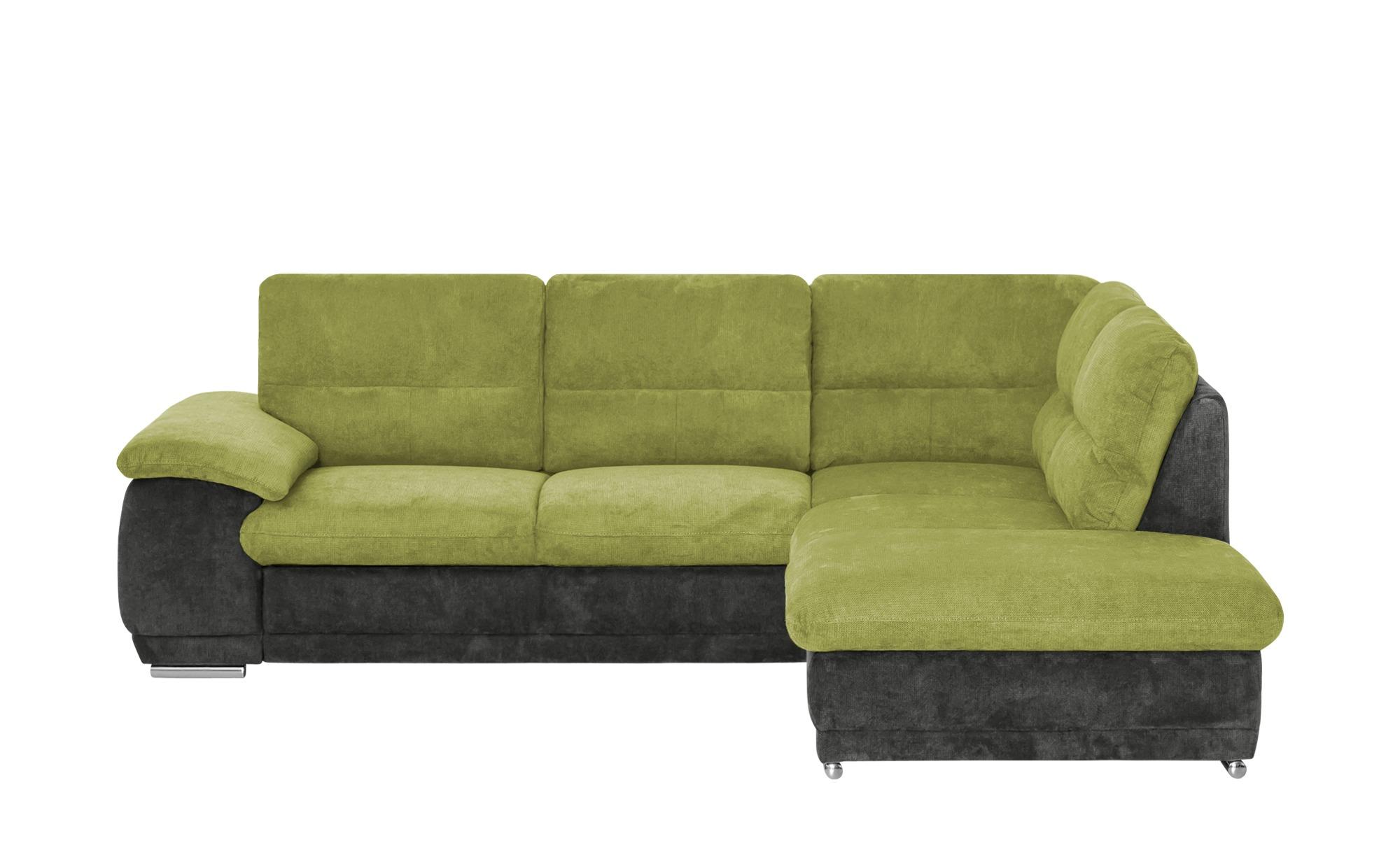 Ecksofa  Silva ¦ grün ¦ Maße (cm): H: 90 Polstermöbel > Sofas > Ecksofas - Höffner