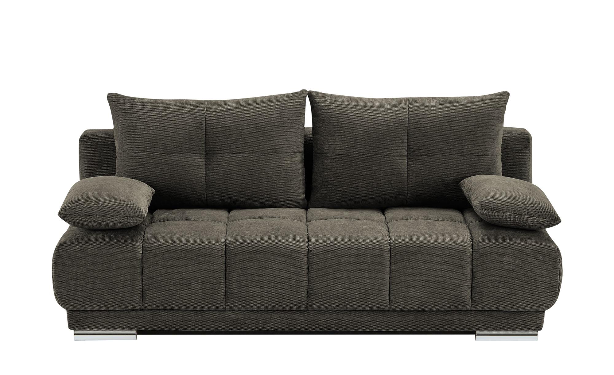 bobb Schlafsofa  Isalie de Luxe ¦ braun ¦ Maße (cm): B: 206 H: 92 T: 105 Polstermöbel > Sofas > Einzelsofas - Höffner