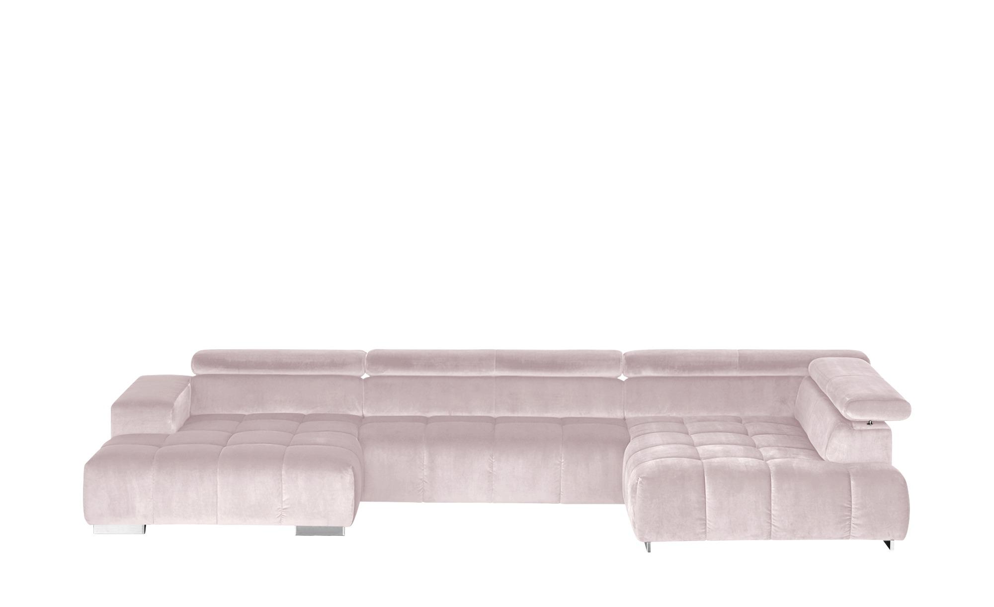 uno Wohnlandschaft  Origo ¦ rosa/pink ¦ Maße (cm): H: 70 Polstermöbel > Sofas > Wohnlandschaften - Höffner