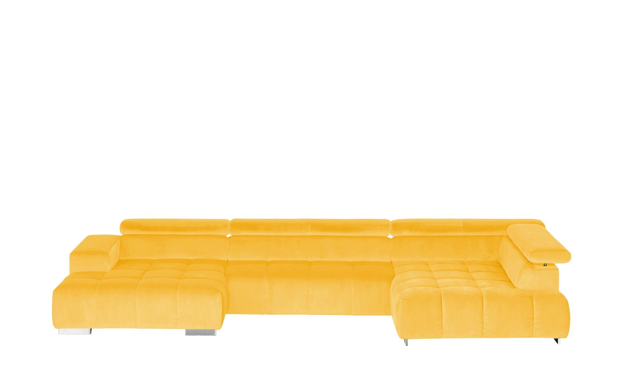 uno Wohnlandschaft  Origo ¦ gelb ¦ Maße (cm): H: 70 Polstermöbel > Sofas > Wohnlandschaften - Höffner
