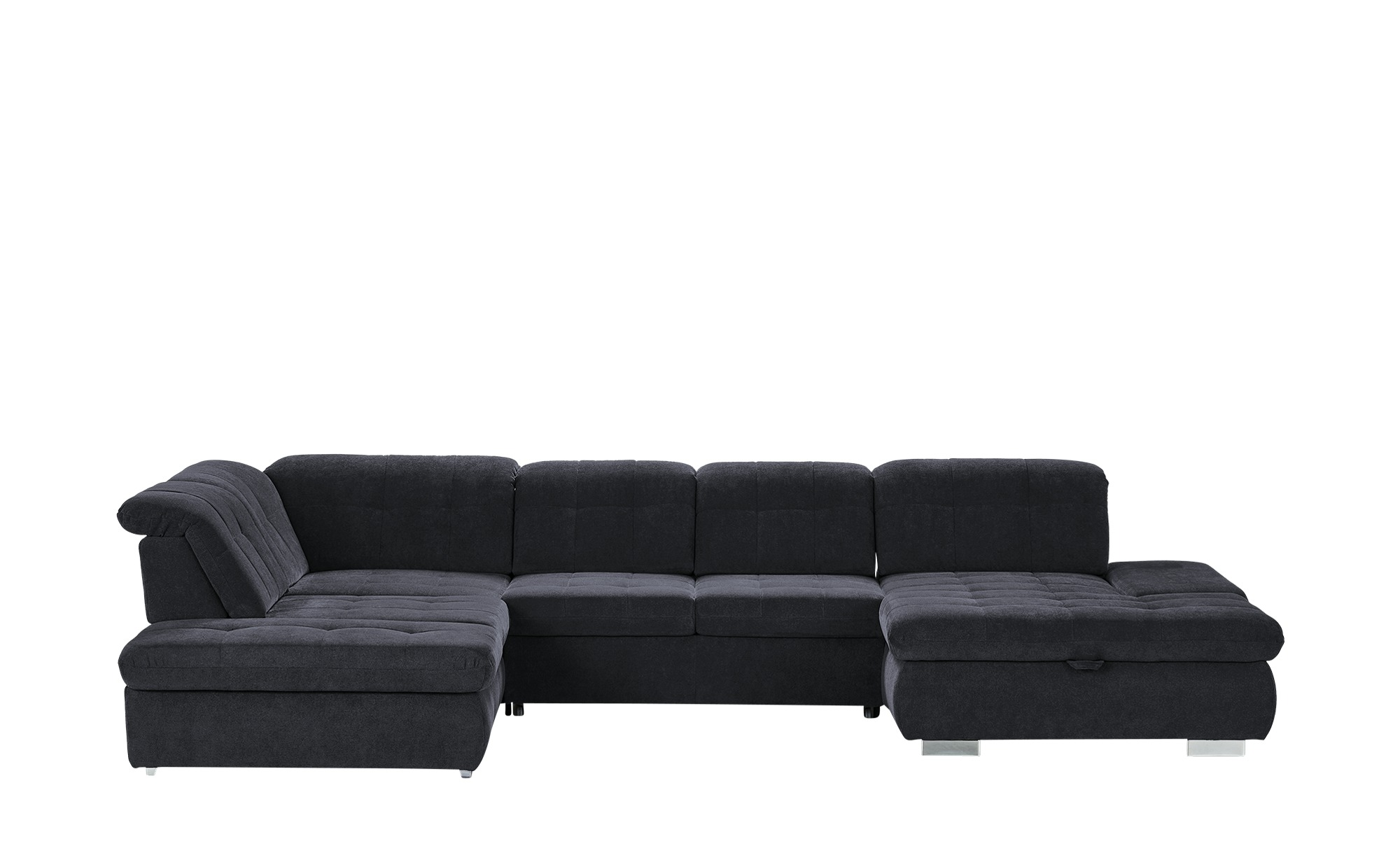 Wohnlandschaft  Spencer ¦ blau ¦ Maße (cm): H: 102 Polstermöbel > Sofas > Schlafsofas - Höffner