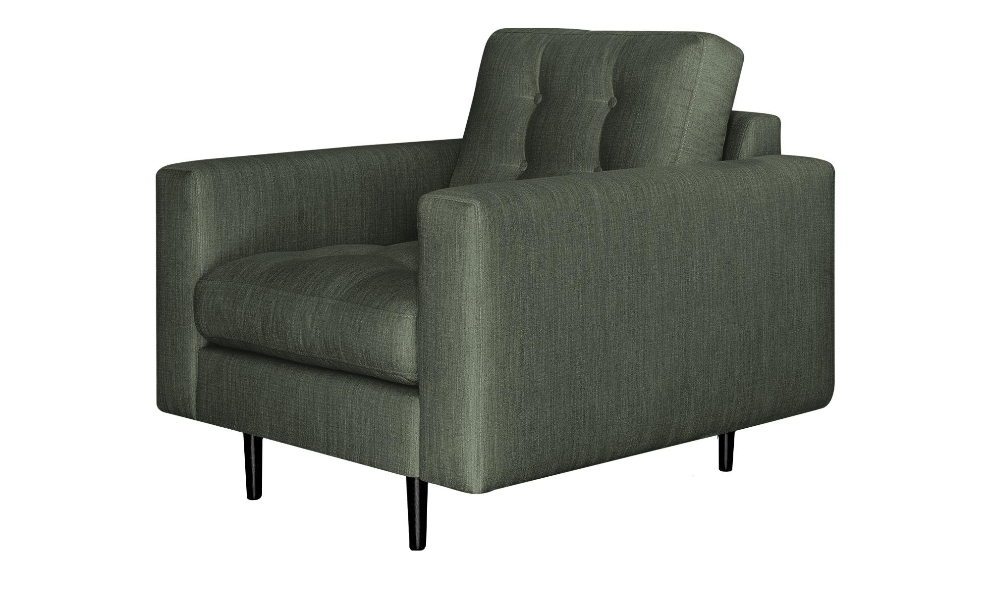 Gray & Jones Sessel  Gypsy ¦ grün ¦ Maße (cm): B: 97 H: 90 T: 92 Polstermöbel > Sessel > Polstersessel - Höffner