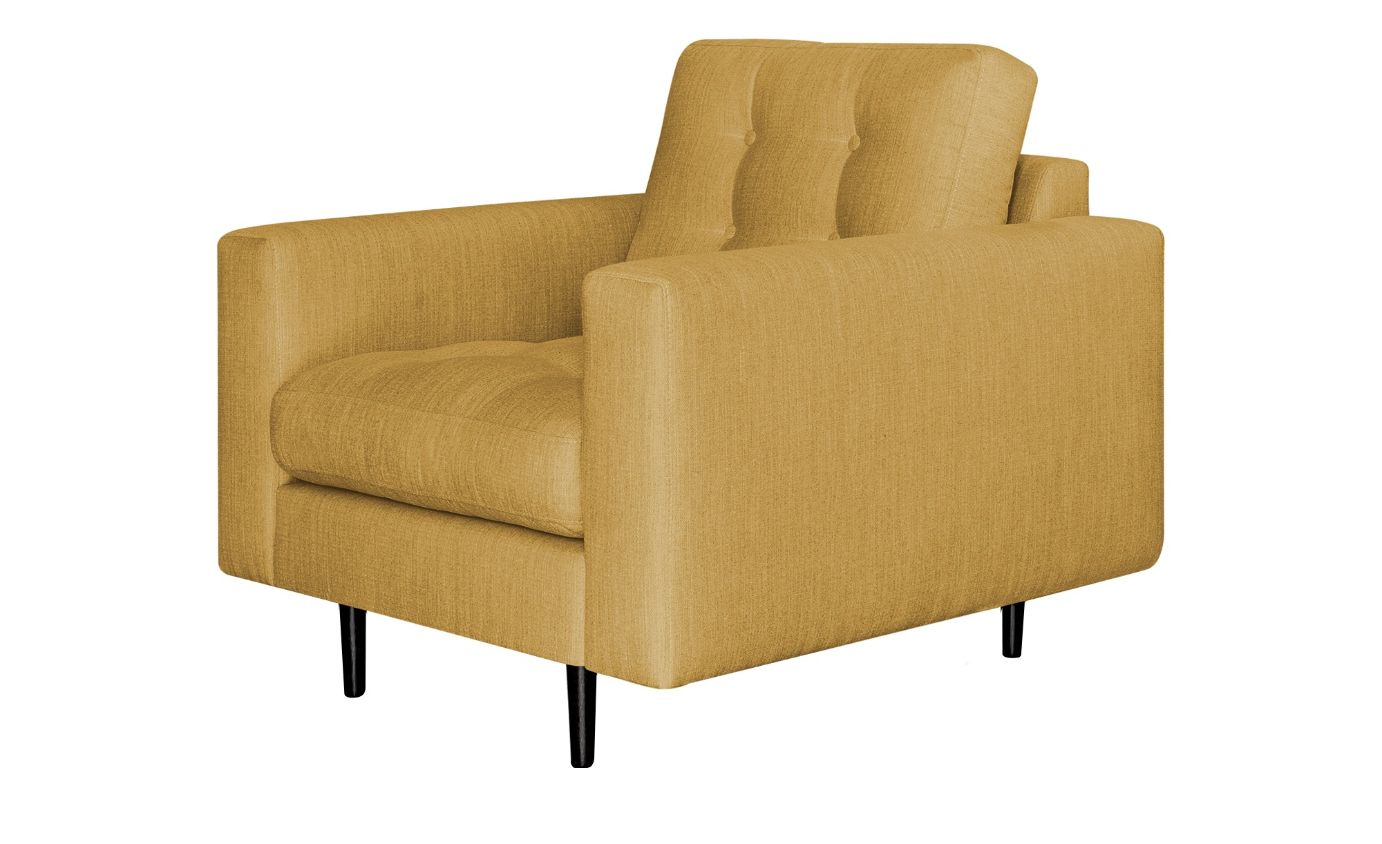 Gray & Jones Sessel  Gypsy ¦ gelb ¦ Maße (cm): B: 97 H: 90 T: 92 Polstermöbel > Sessel > Polstersessel - Höffner