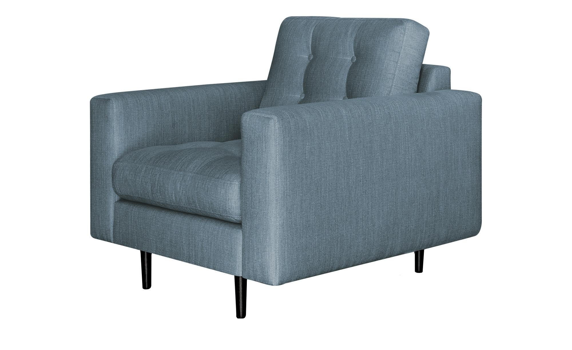 Gray & Jones Sessel  Gypsy ¦ blau ¦ Maße (cm): B: 97 H: 90 T: 92 Polstermöbel > Sessel > Polstersessel - Höffner