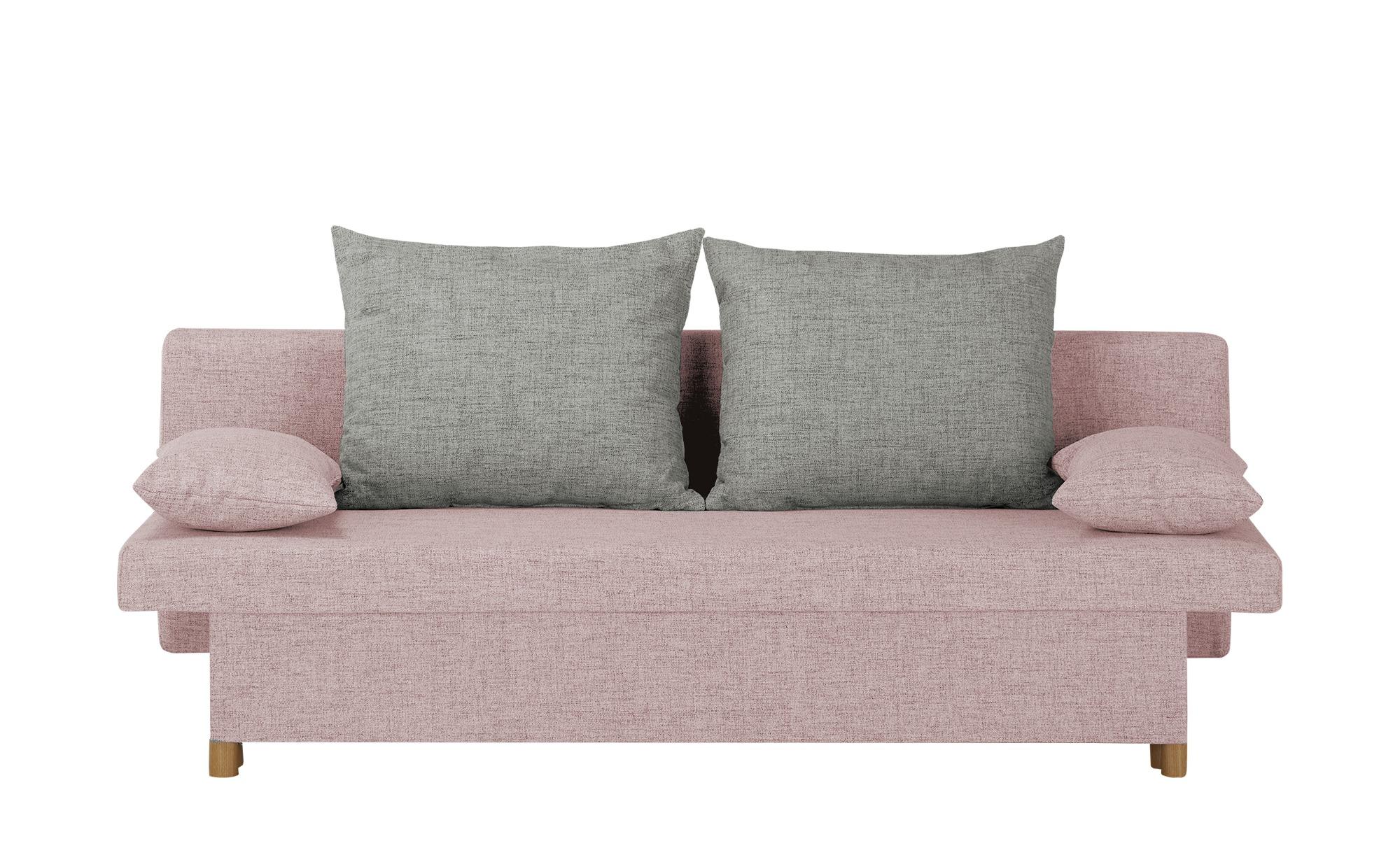 smart Schlafsofa  Wiebke ¦ rosa/pink ¦ Maße (cm): B: 194 H: 88 T: 87 Polstermöbel > Sofas > Einzelsofas - Höffner
