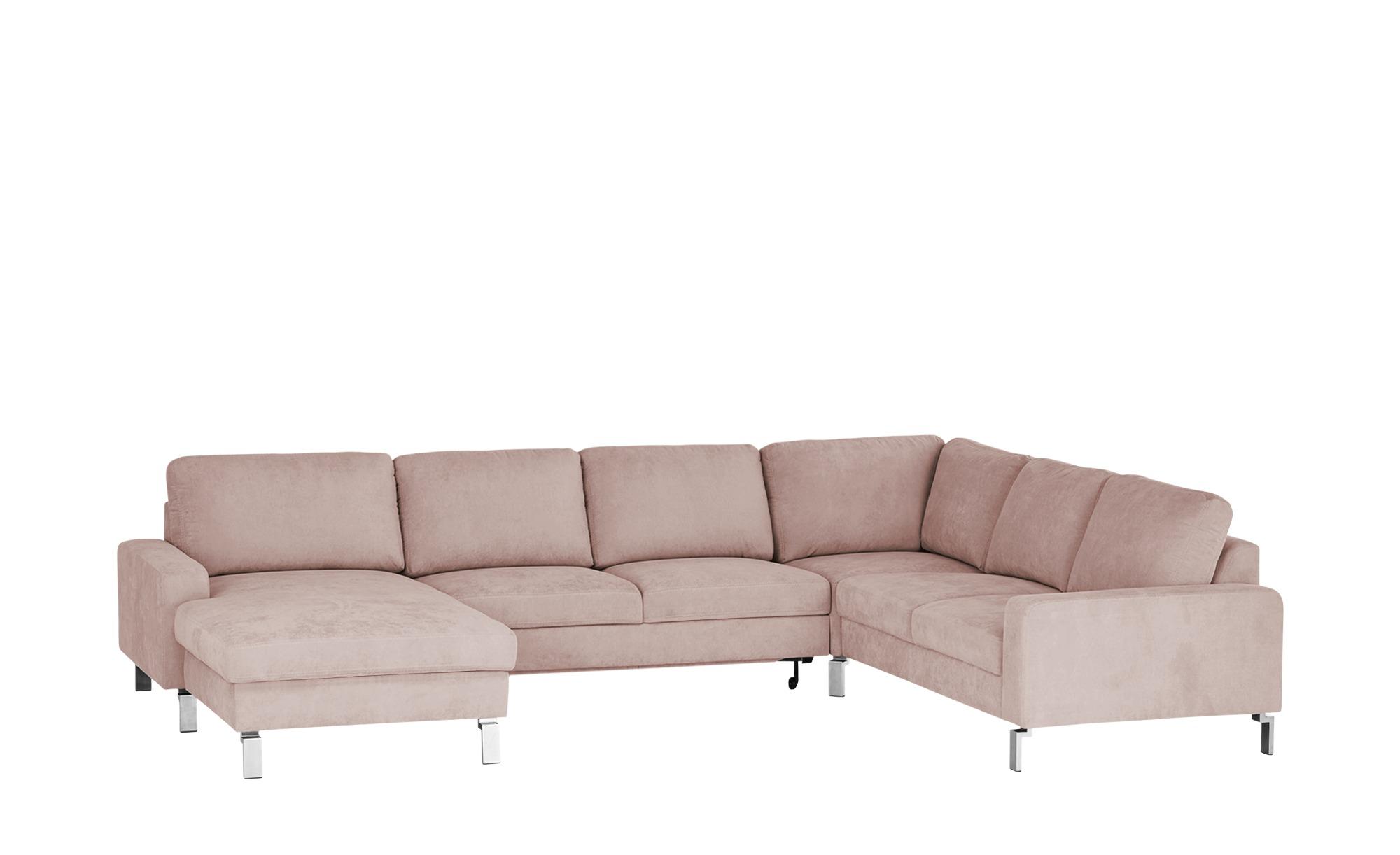 Max Schelling Wohnlandschaft  Maximum ¦ rosa/pink ¦ Maße (cm): H: 86 Polstermöbel > Sofas > Schlafsofas - Höffner