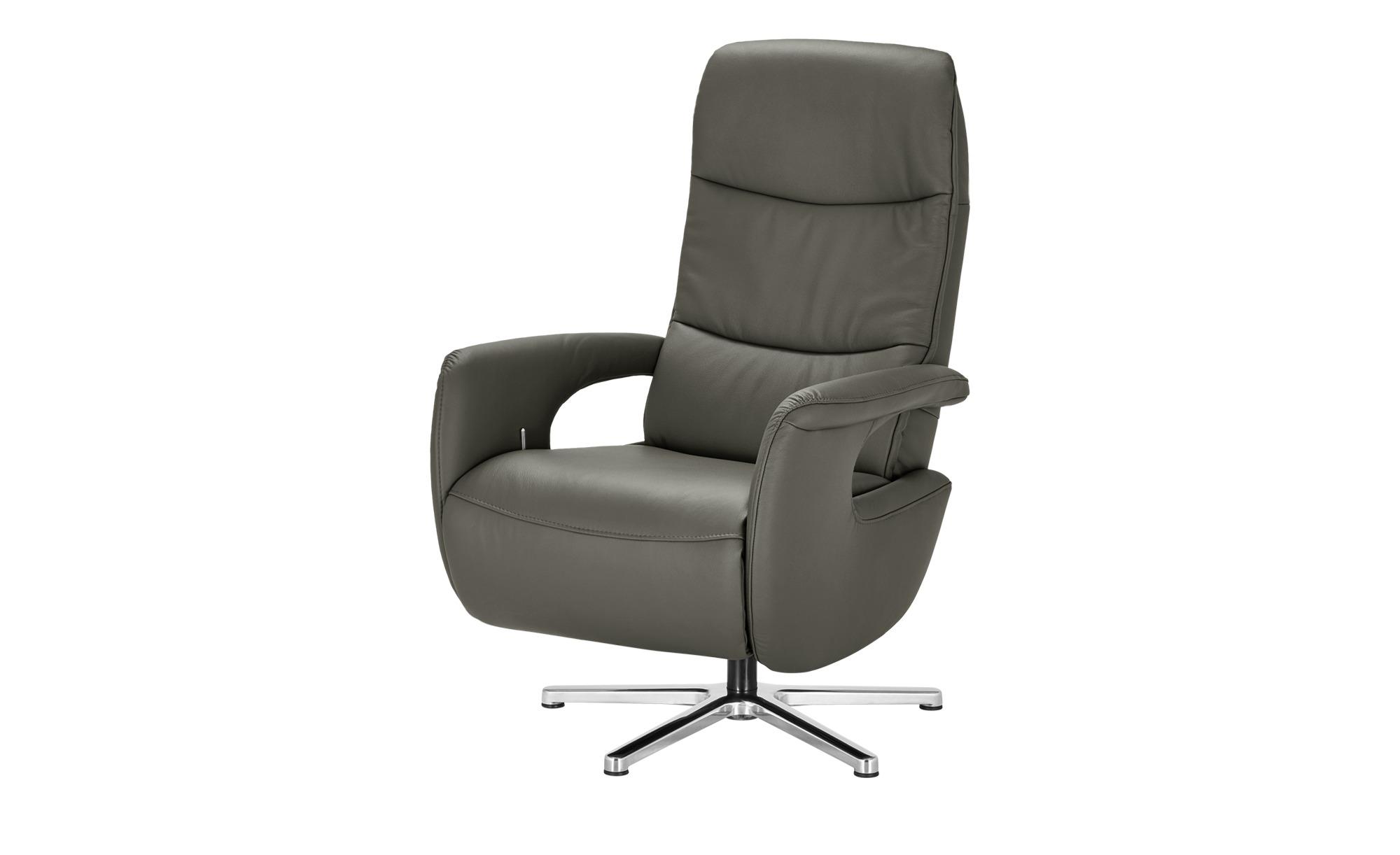 Hukla Relaxsessel  Enno ¦ grau ¦ Maße (cm): B: 72 H: 110 T: 85 Polstermöbel > Sessel > Fernsehsessel - Höffner