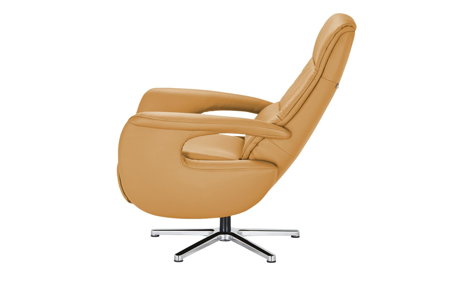 Hukla Relaxsessel  Enno ¦ gelb ¦ Maße (cm): B: 72 H: 110 T: 85 Polstermöbel > Sessel > Fernsehsessel - Höffner