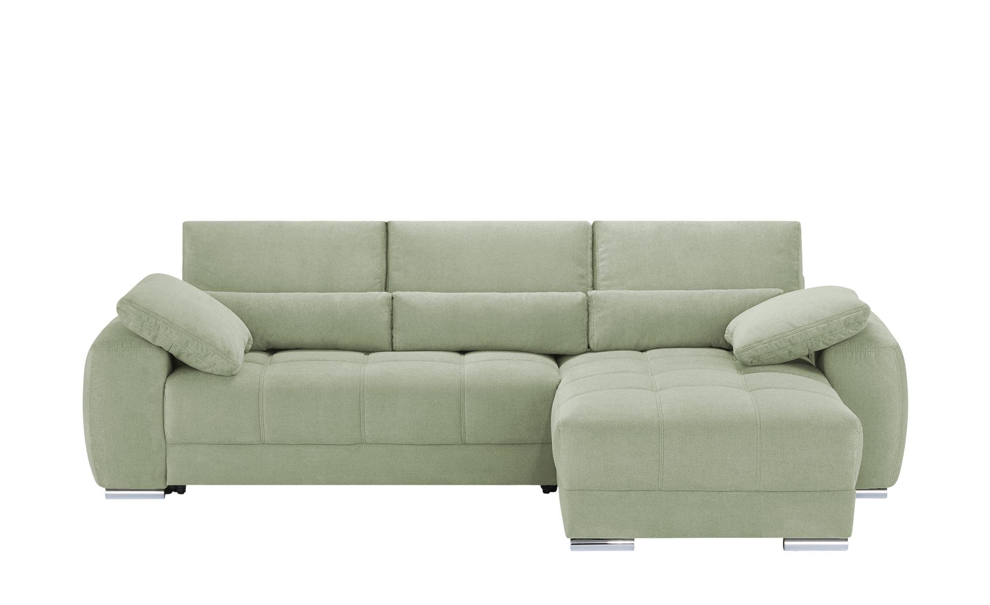 bobb Ecksofa  Fiene ¦ grün ¦ Maße (cm): H: 91 Polstermöbel > Sofas > Ecksofas - Höffner