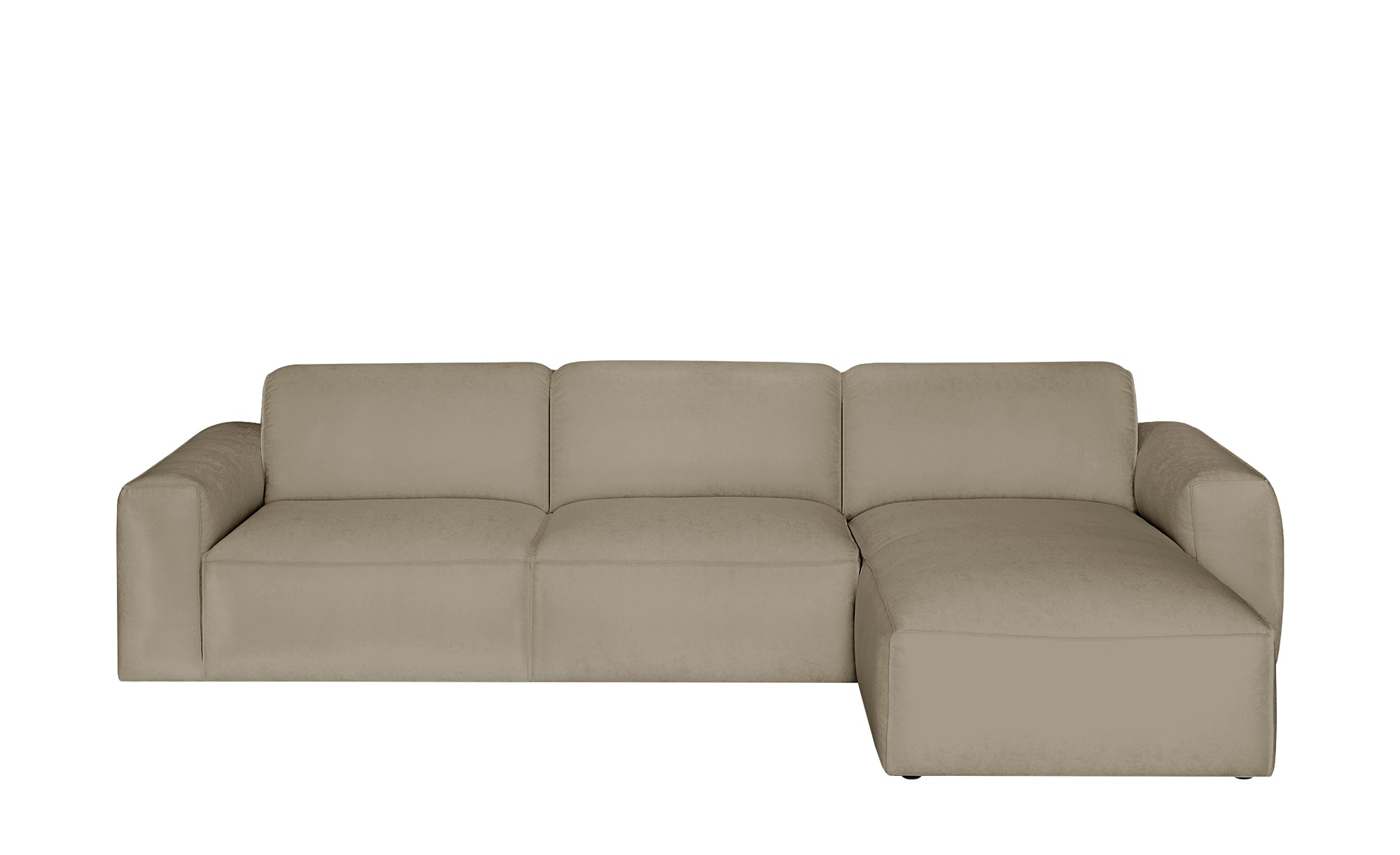 Gray & Jones Ecksofa  Factory ¦ beige ¦ Maße (cm): H: 75 T: 100 Polstermöbel > Sofas > Ecksofas - Höffner