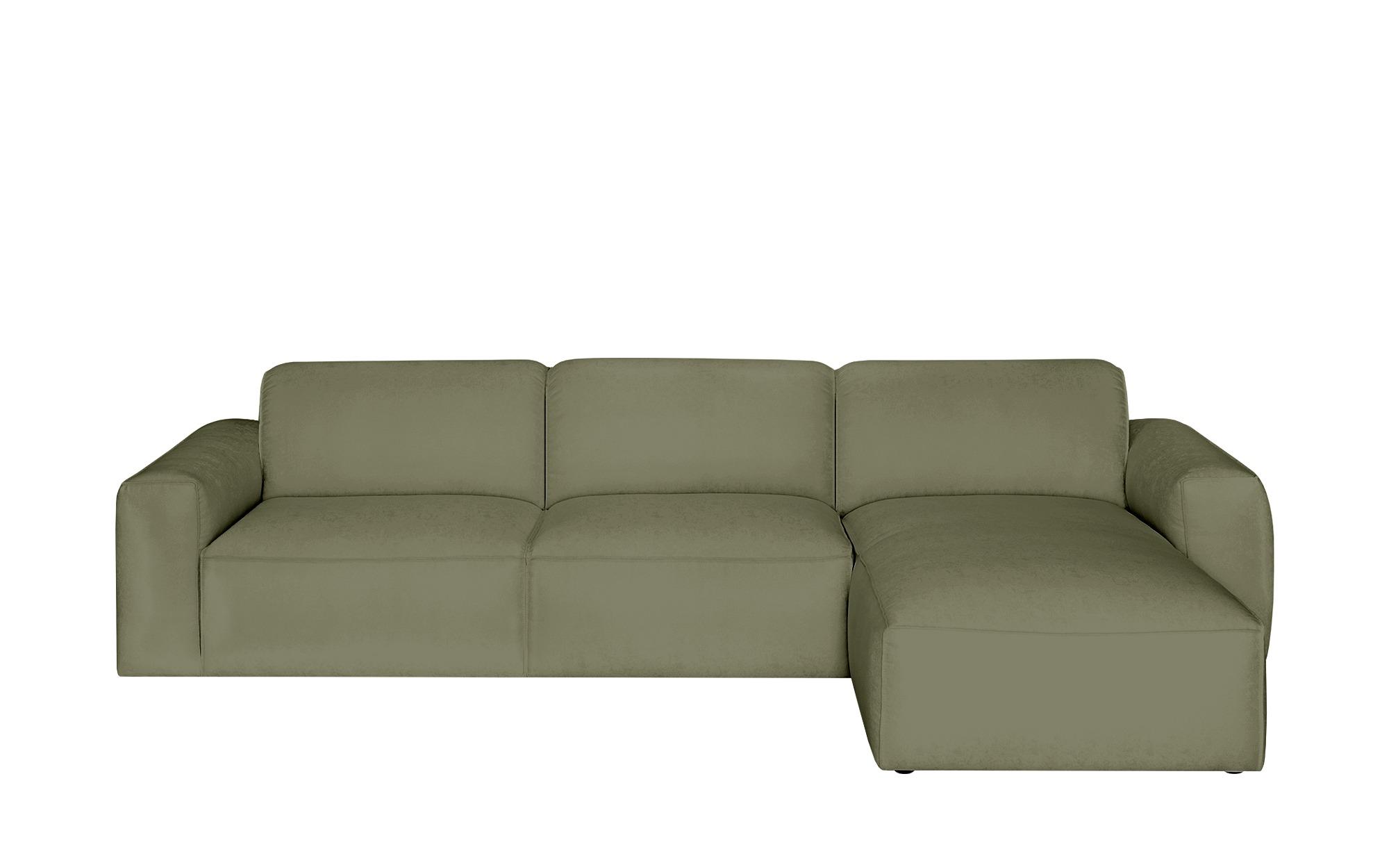 Gray & Jones Ecksofa  Factory ¦ grün ¦ Maße (cm): H: 75 T: 100 Polstermöbel > Sofas > Ecksofas - Höffner