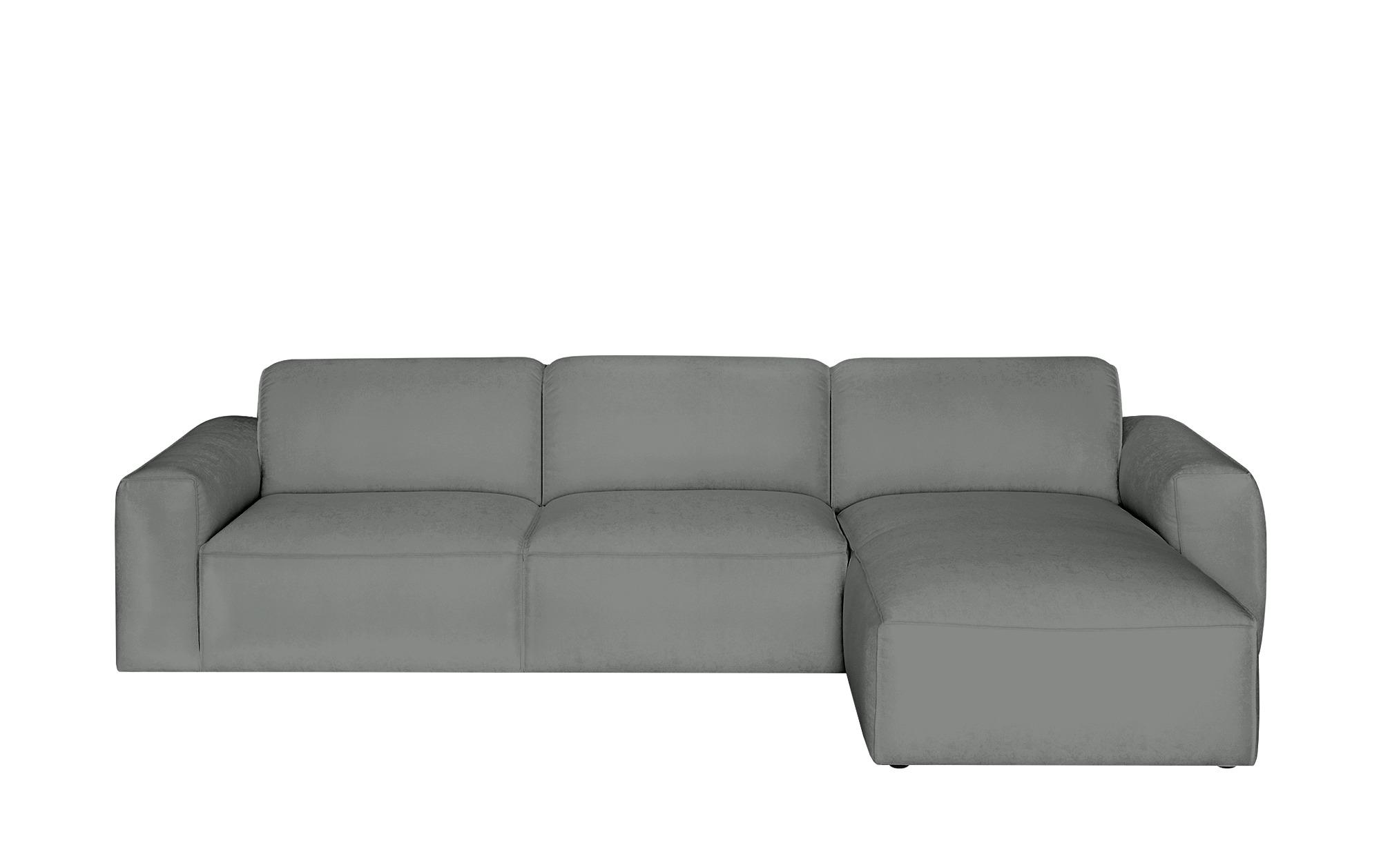 Gray & Jones Ecksofa  Factory ¦ grau ¦ Maße (cm): H: 75 T: 100 Polstermöbel > Sofas > Ecksofas - Höffner