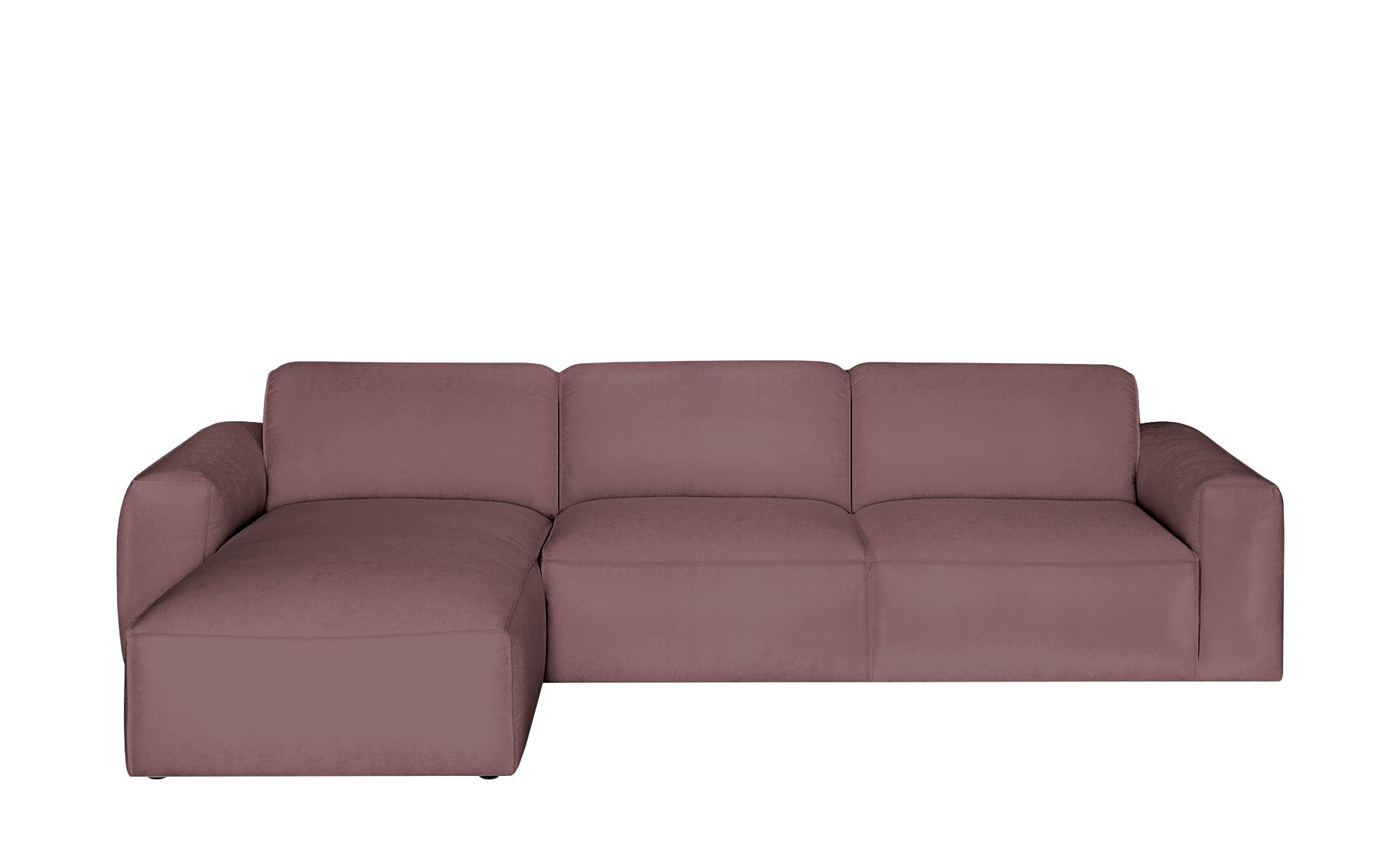 Gray & Jones Ecksofa  Factory ¦ rot ¦ Maße (cm): H: 75 T: 100 Polstermöbel > Sofas > Ecksofas - Höffner