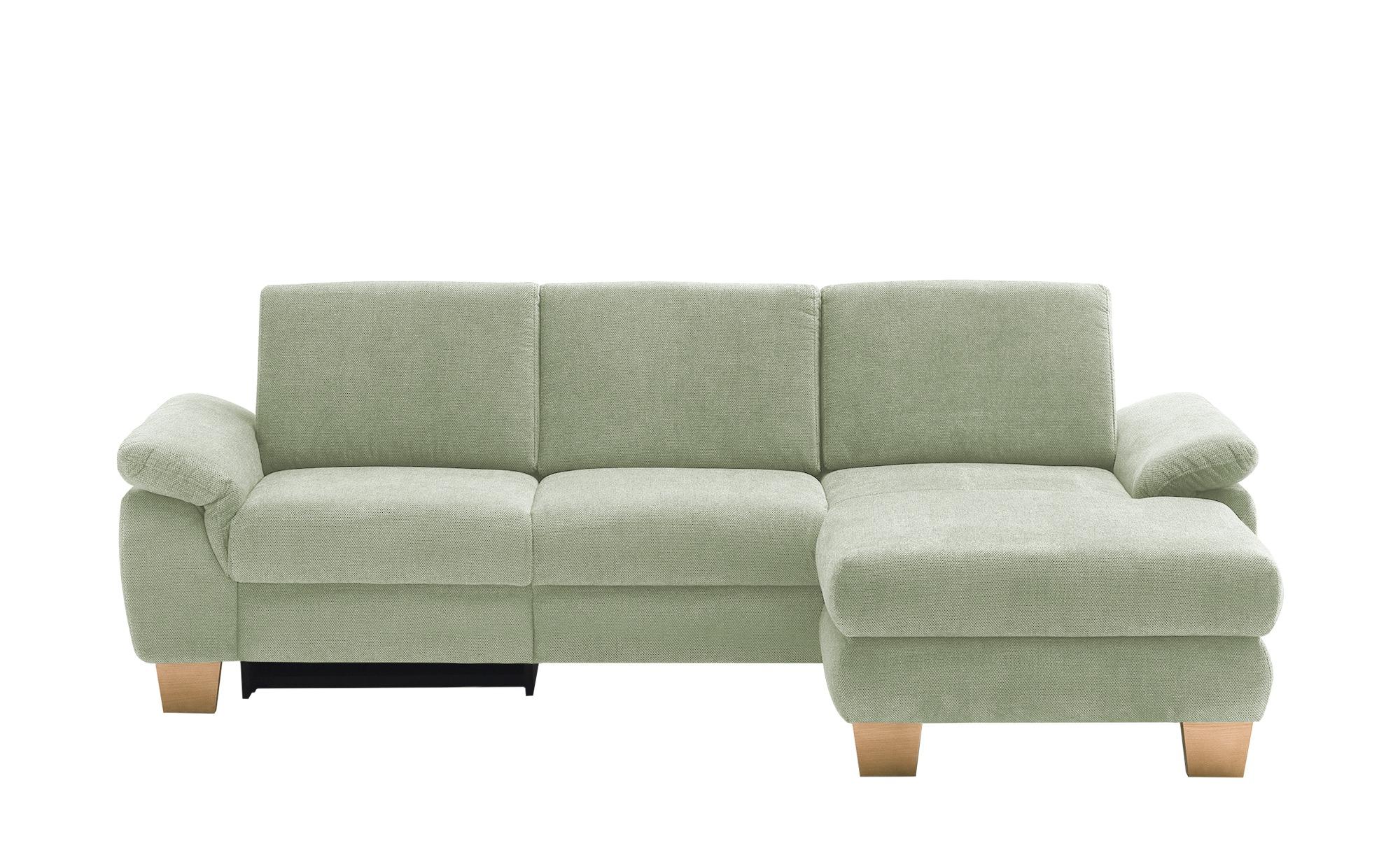 Ecksofa mit Funktion  Cosima ¦ grün ¦ Maße (cm): H: 86 Polstermöbel > Sofas > Ecksofas - Höffner
