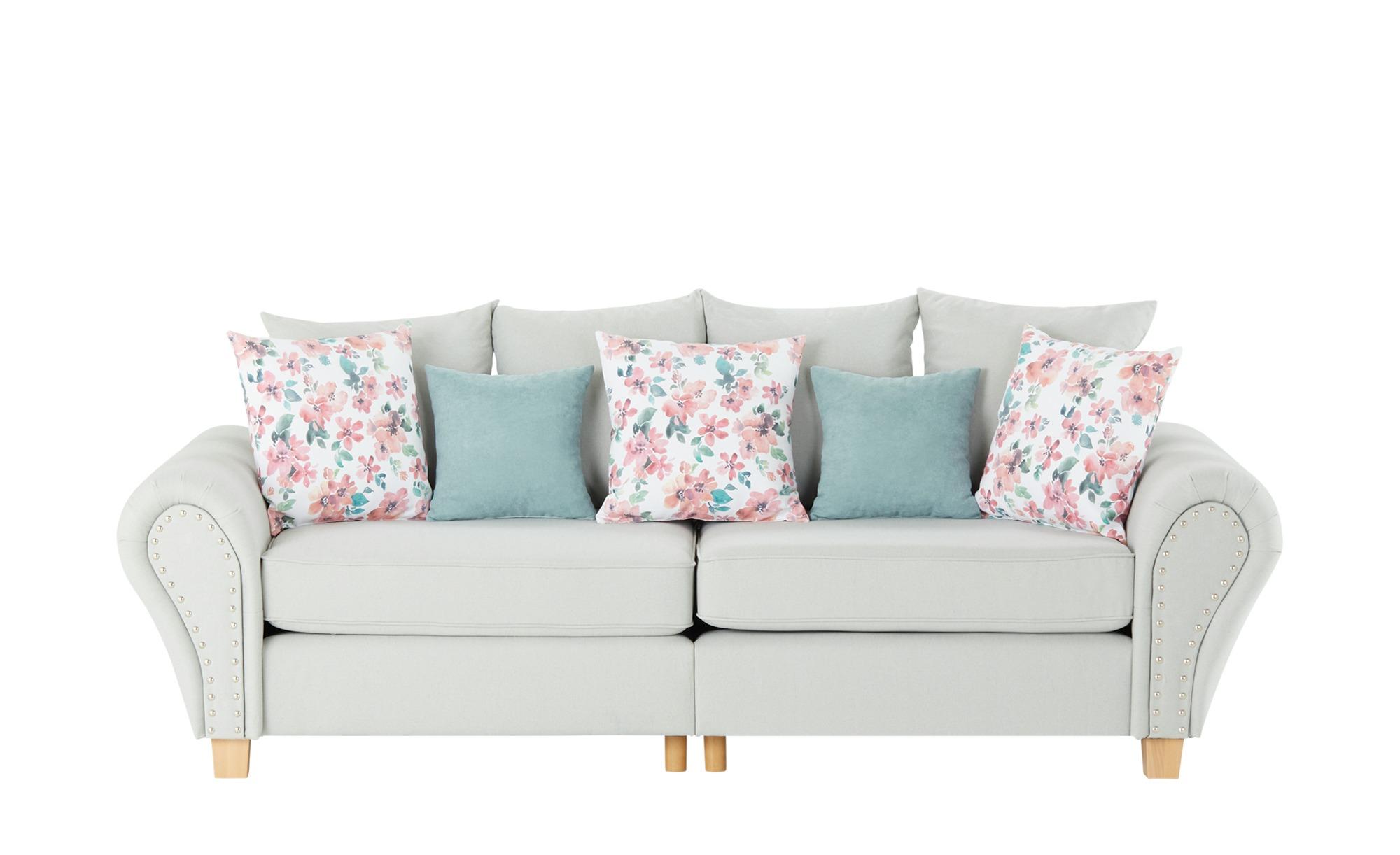 Big Sofa  Vinona ¦ grün ¦ Maße (cm): B: 264 H: 102 T: 108 Polstermöbel > Sofas > Big-Sofas - Höffner