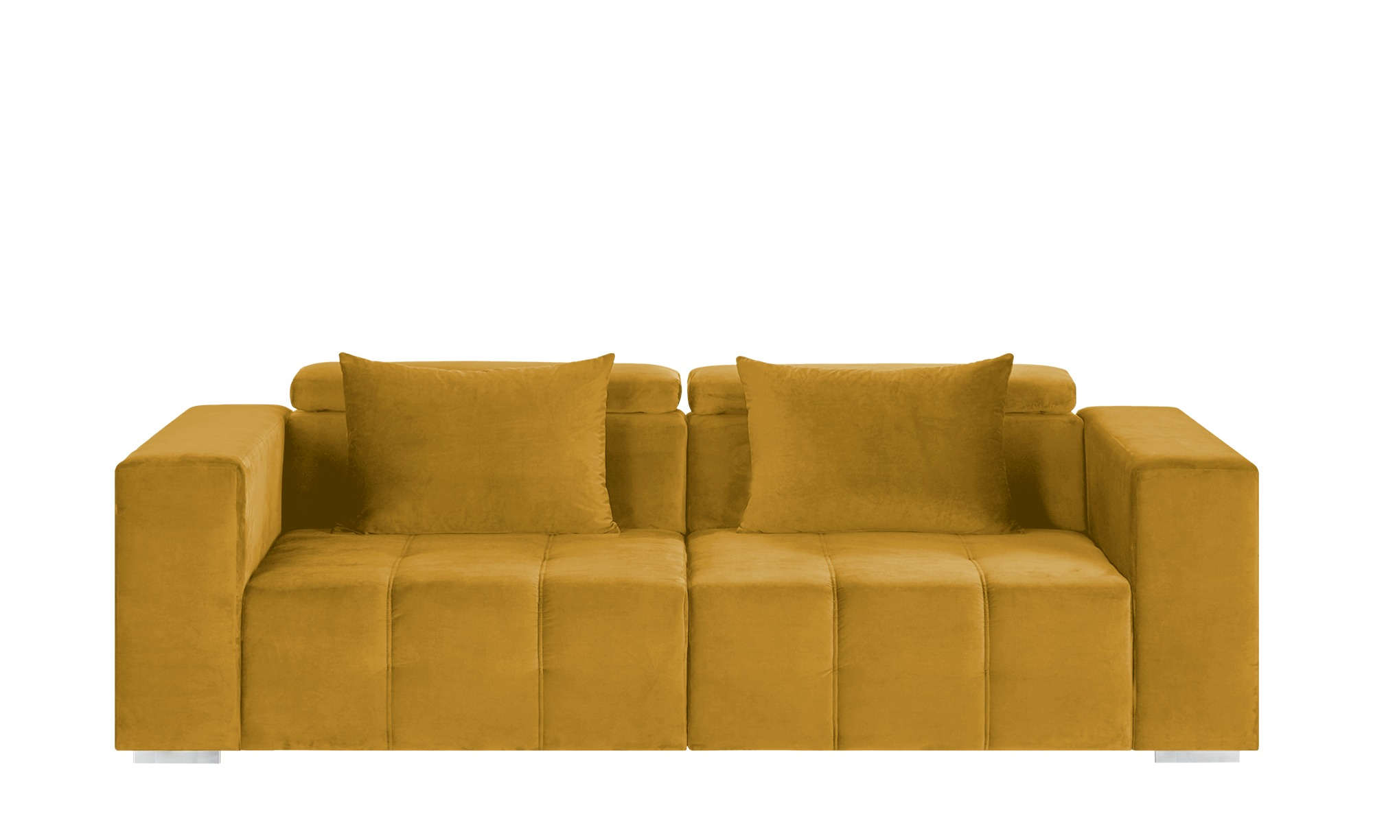 switch Big Sofa  Vila ¦ gold ¦ Maße (cm): B: 261 H: 79 T: 120 Polstermöbel > Sofas > Big-Sofas - Höffner