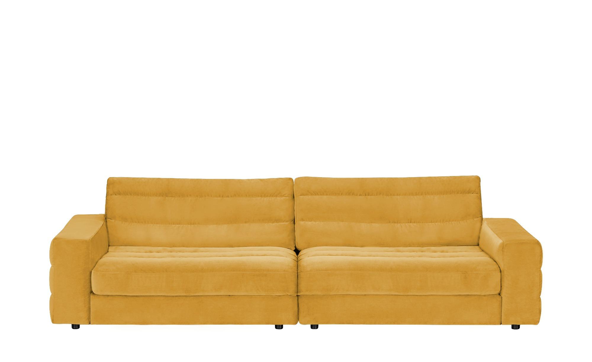 pop Big Sofa  Scarlatti ¦ gelb ¦ Maße (cm): B: 296 H: 83 T: 125 Polstermöbel > Sofas > Big-Sofas - Höffner