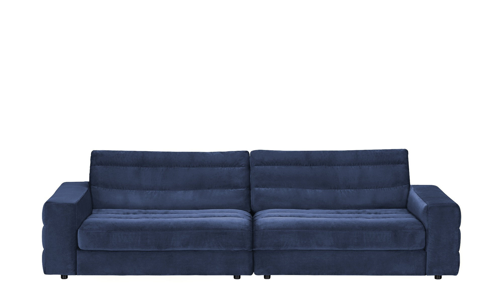 pop Big Sofa  Scarlatti ¦ blau ¦ Maße (cm): B: 296 H: 83 T: 125 Polstermöbel > Sofas > Big-Sofas - Höffner