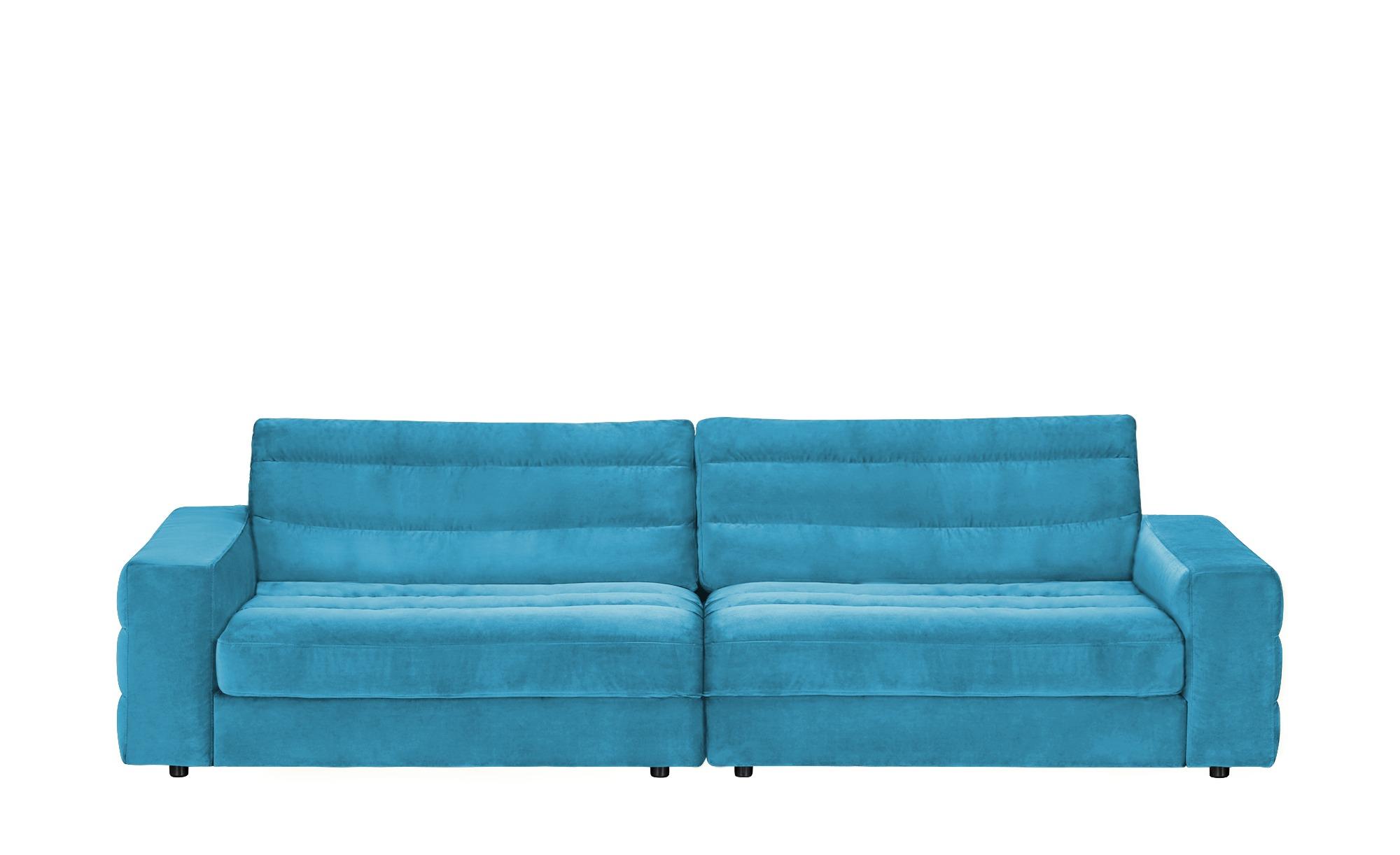 Big Sofa  Scarlatti ¦ türkis/petrol ¦ Maße (cm): B: 296 H: 83 T: 125 Polstermöbel > Sofas > Big-Sofas - Höffner
