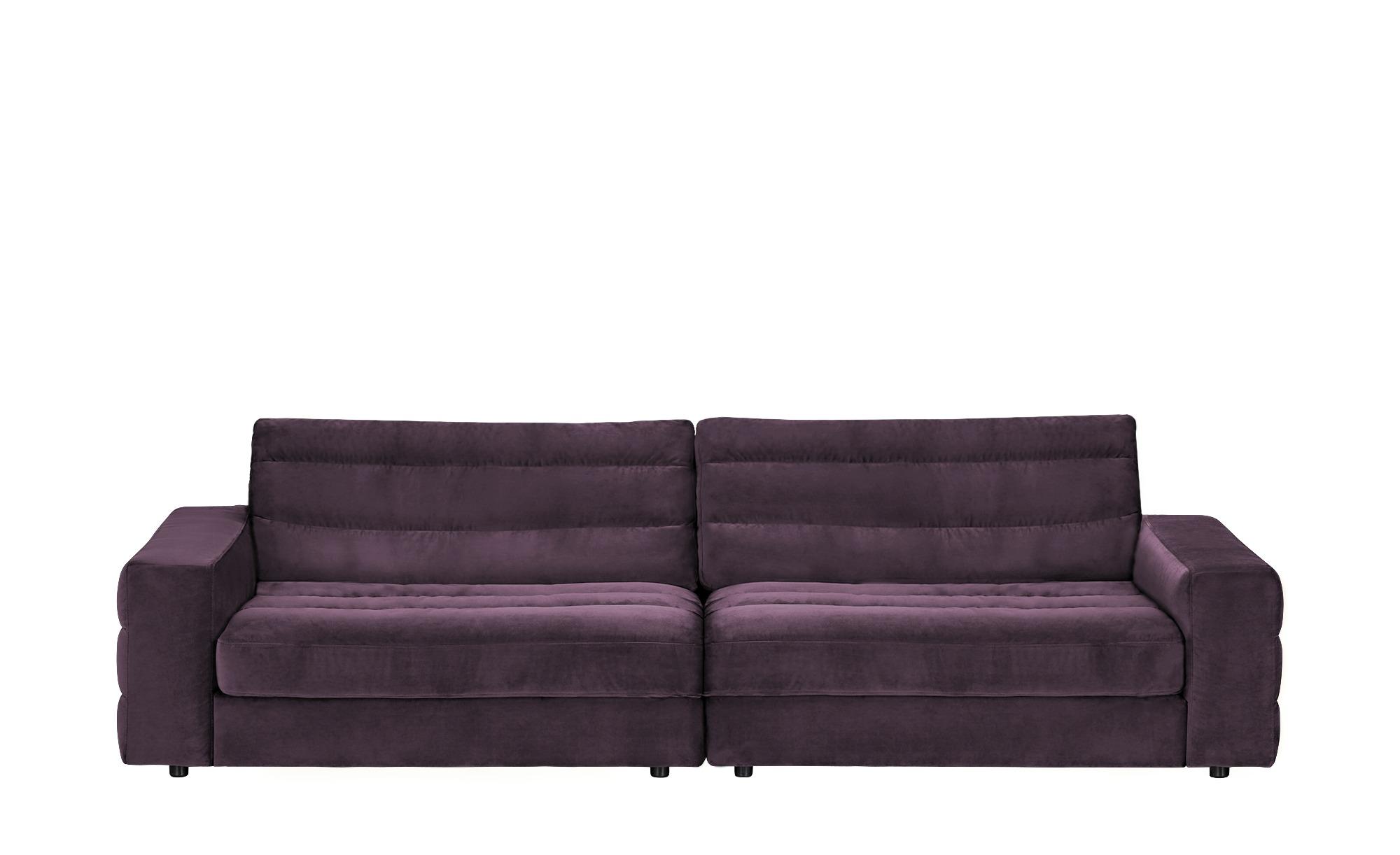 pop Big Sofa  Scarlatti ¦ lila/violett ¦ Maße (cm): B: 296 H: 83 T: 125 Polstermöbel > Sofas > Big-Sofas - Höffner