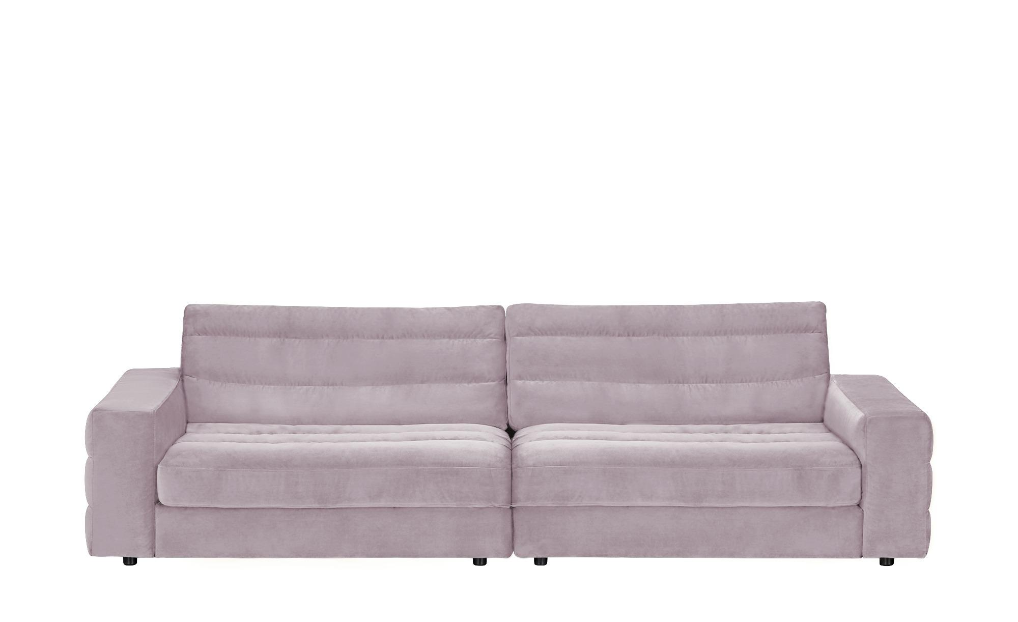 pop Big Sofa  Scarlatti ¦ rosa/pink ¦ Maße (cm): B: 296 H: 83 T: 125 Polstermöbel > Sofas > Big-Sofas - Höffner
