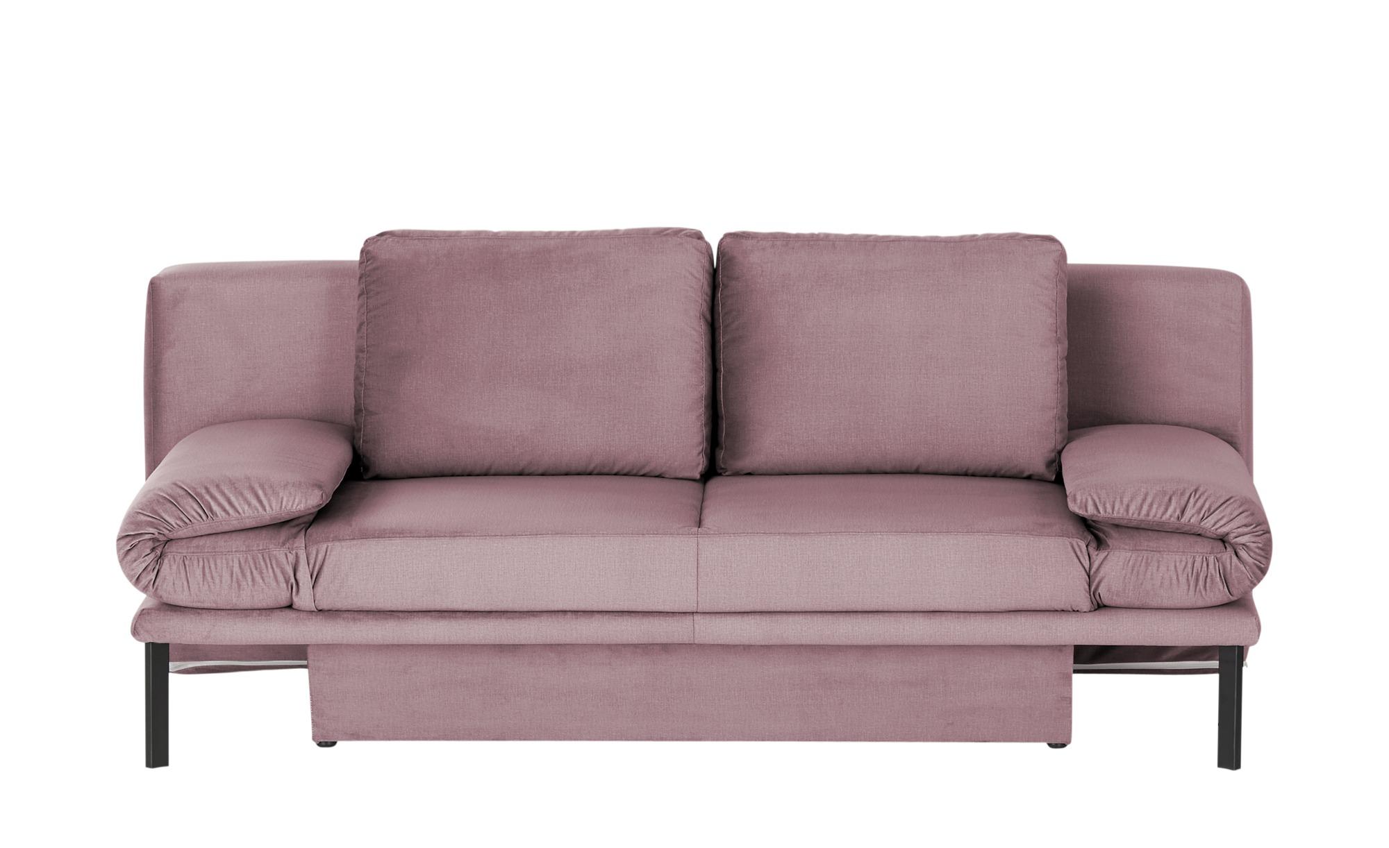 Querschläfer  Fancy ¦ rosa/pink ¦ Maße (cm): B: 206 H: 85 T: 99 Polstermöbel > Sofas > Einzelsofas - Höffner