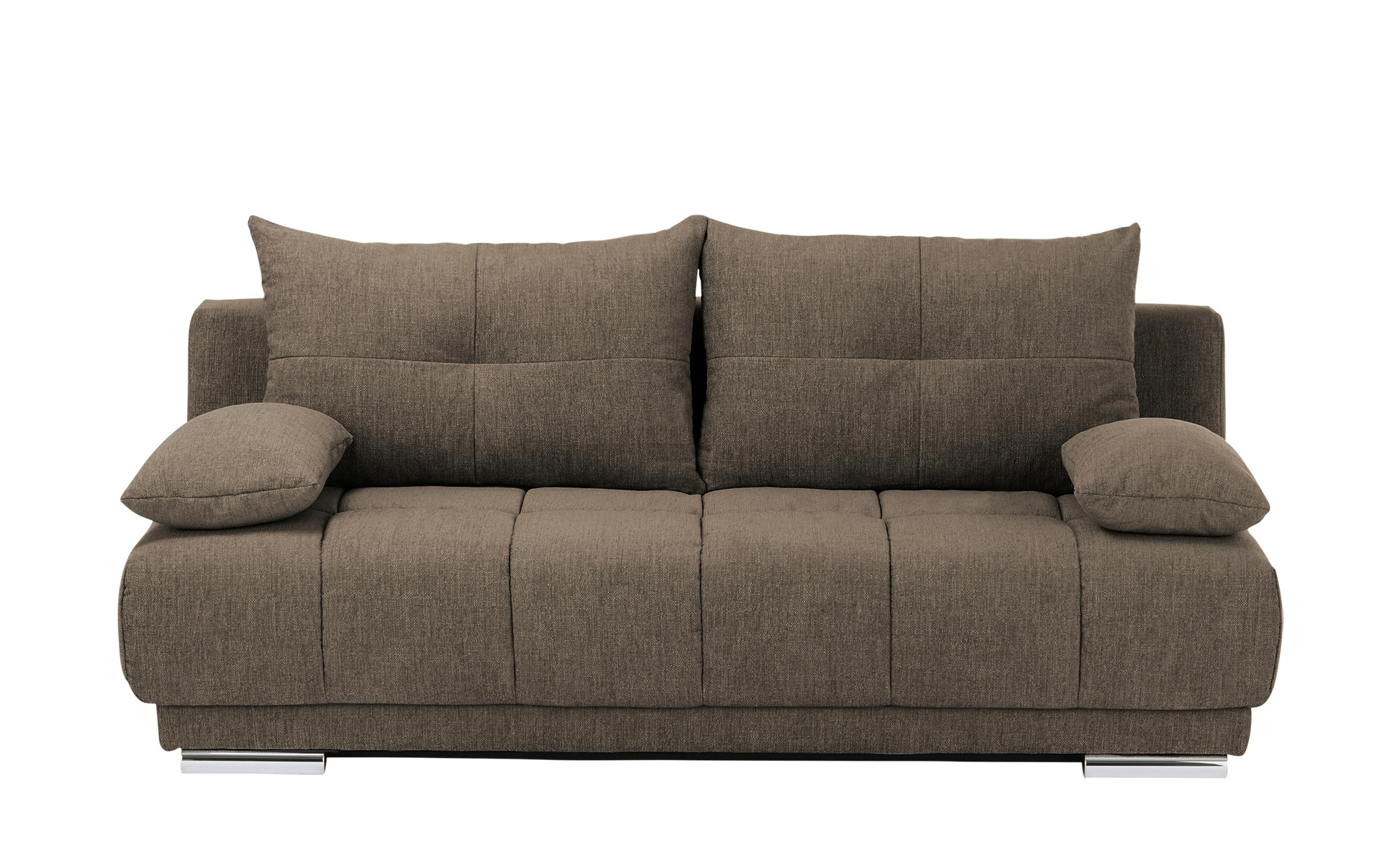 bobb Schlafsofa  Isalie ¦ braun ¦ Maße (cm): B: 206 H: 92 T: 105 Polstermöbel > Sofas > Einzelsofas - Höffner