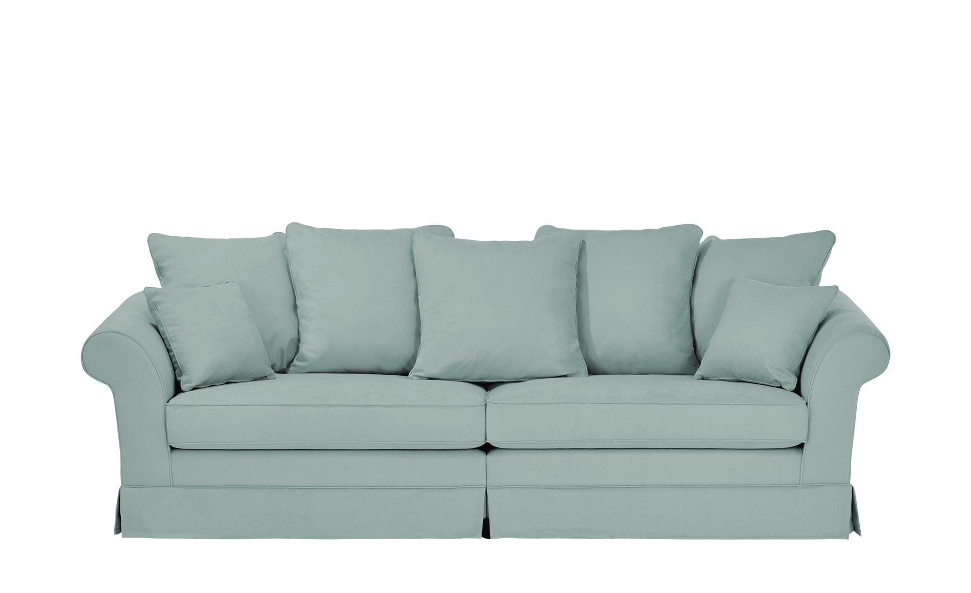 Megasofa Husse  Hampton ¦ blau ¦ Maße (cm): B: 264 H: 70 T: 111 Polstermöbel > Sofas > Einzelsofas - Höffner