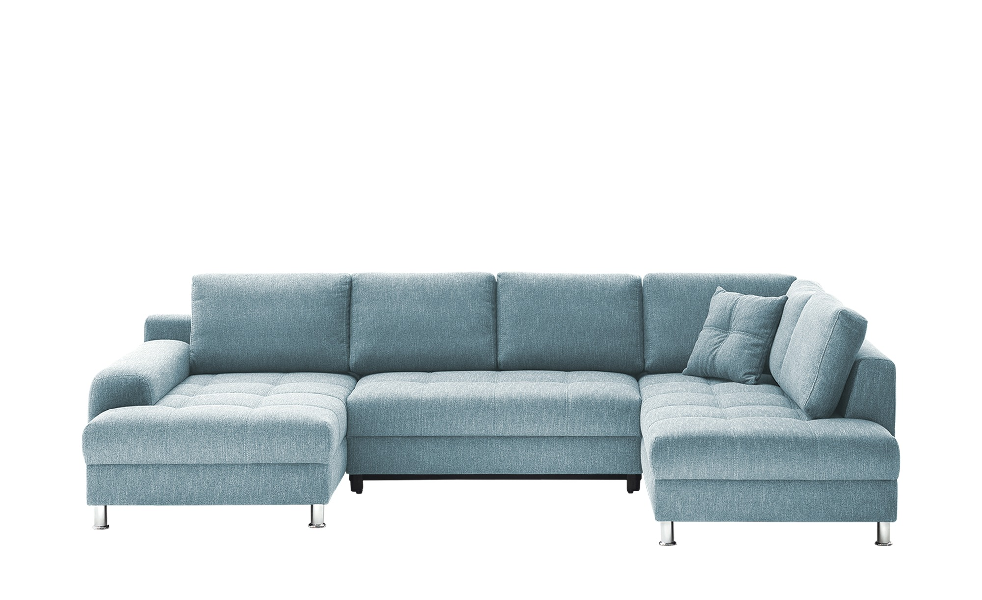 bobb Wohnlandschaft  Giulia ¦ blau ¦ Maße (cm): B: 342 H: 92 T: 220 Polstermöbel > Sofas > Schlafsofas - Höffner