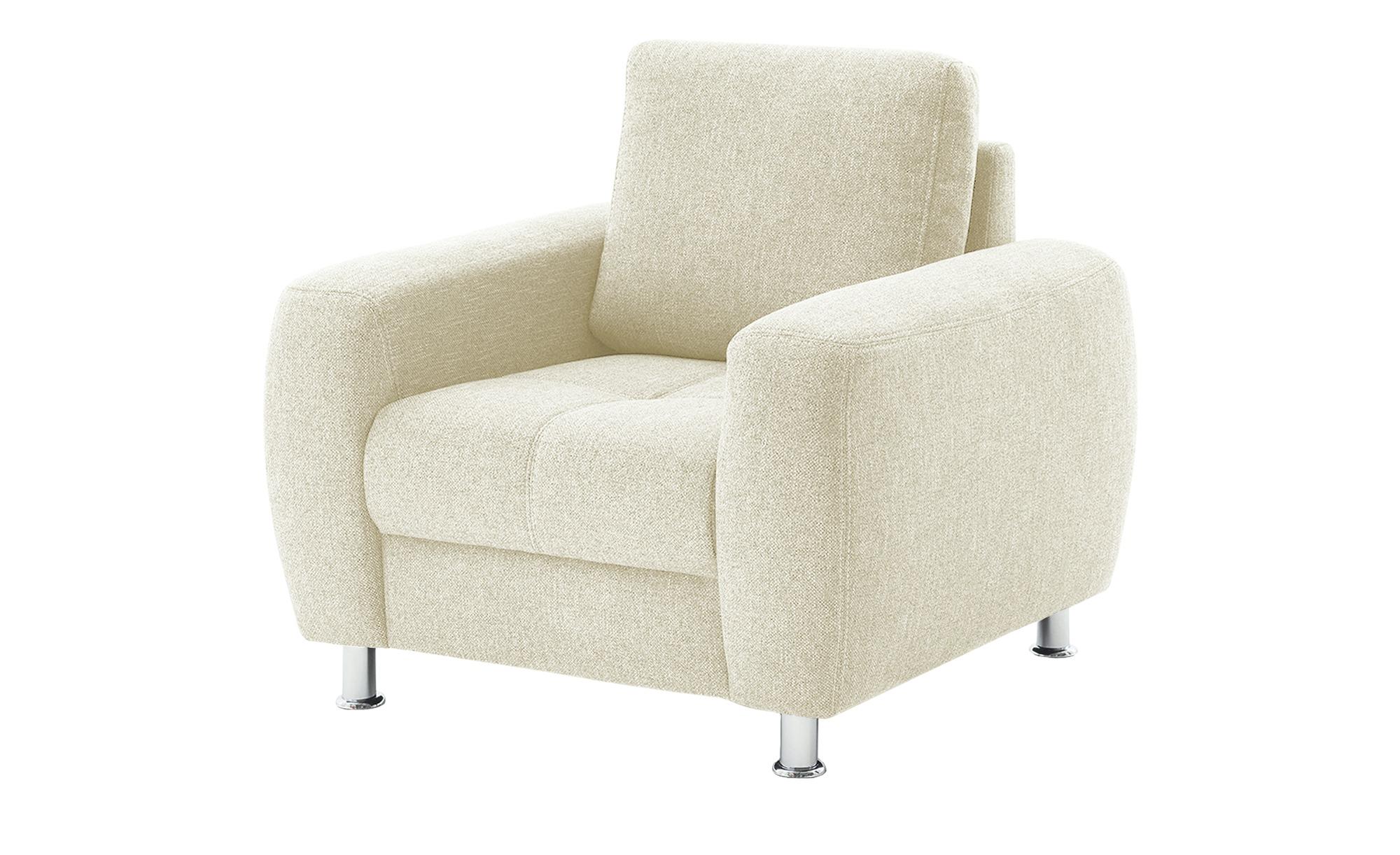bobb Sessel  Giulia ¦ creme ¦ Maße (cm): B: 97 H: 92 T: 95 Polstermöbel > Sessel > Polstersessel - Höffner