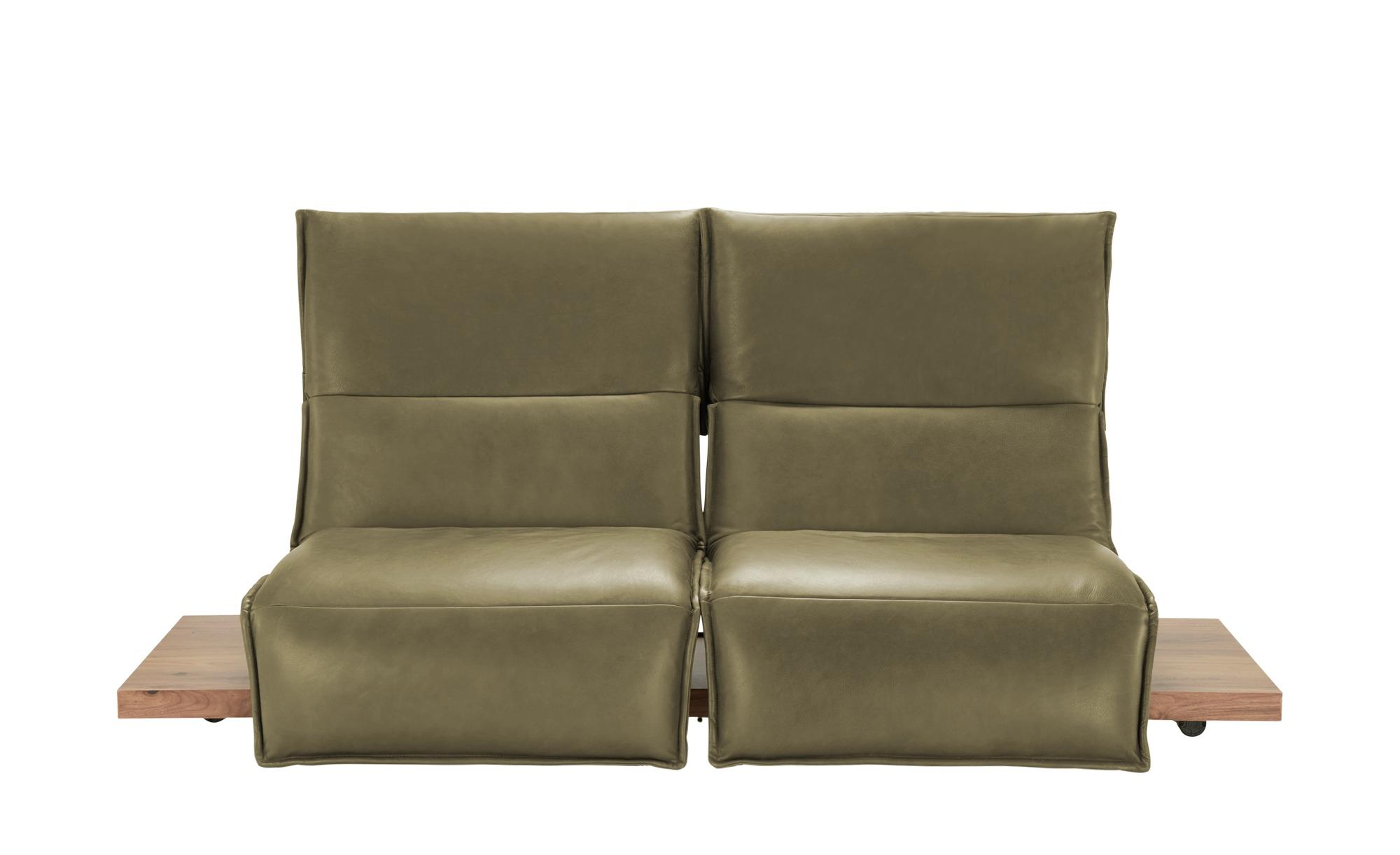 KOINOR Einzelsofa  Edit 2 ¦ grün ¦ Maße (cm): B: 240 H: 112 T: 158 Polstermöbel > Sofas > 2-Sitzer - Höffner