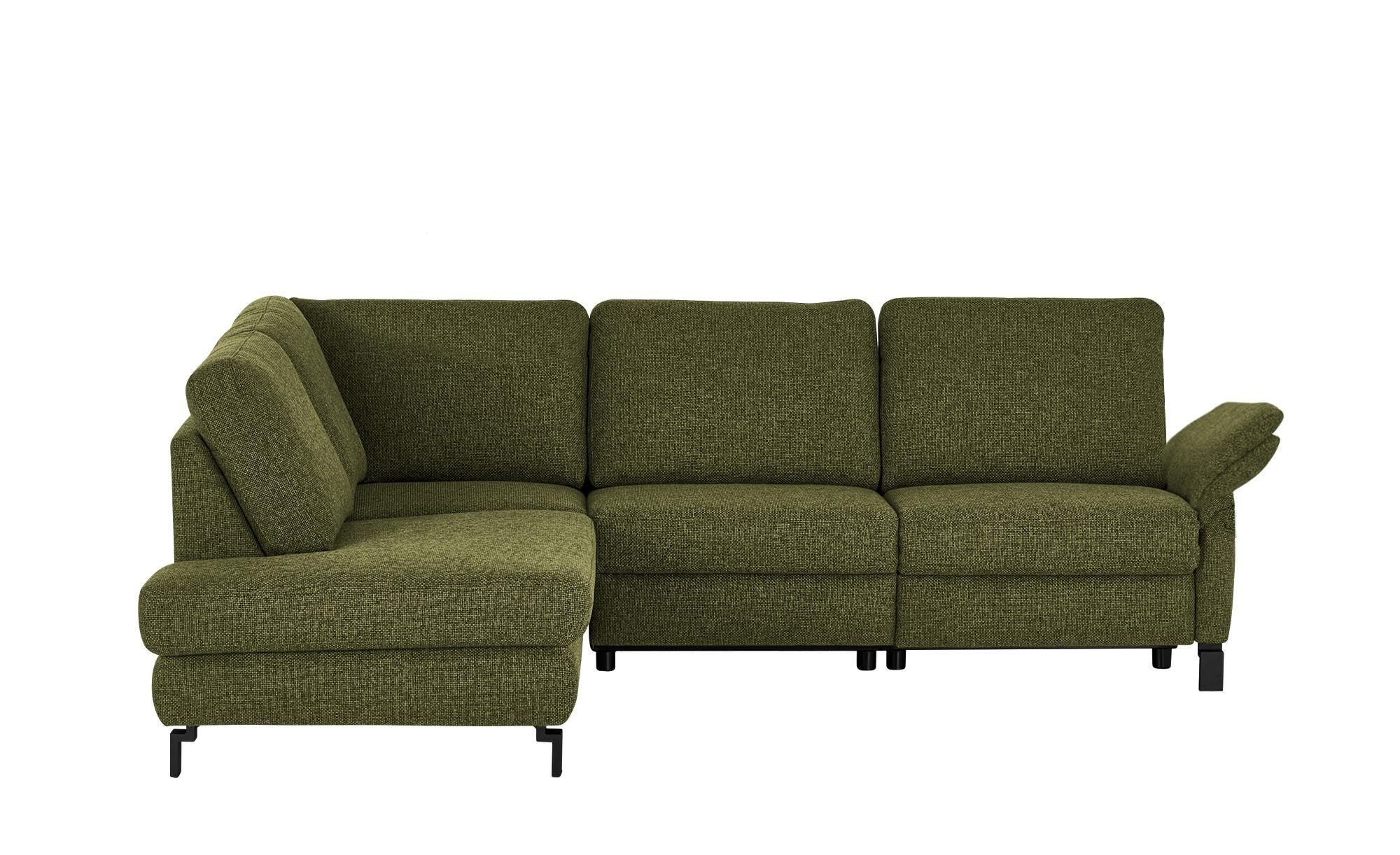 Max Schelling Ecksofa  Maximum Plus ¦ grün ¦ Maße (cm): H: 89 Polstermöbel > Sofas > Ecksofas - Höffner