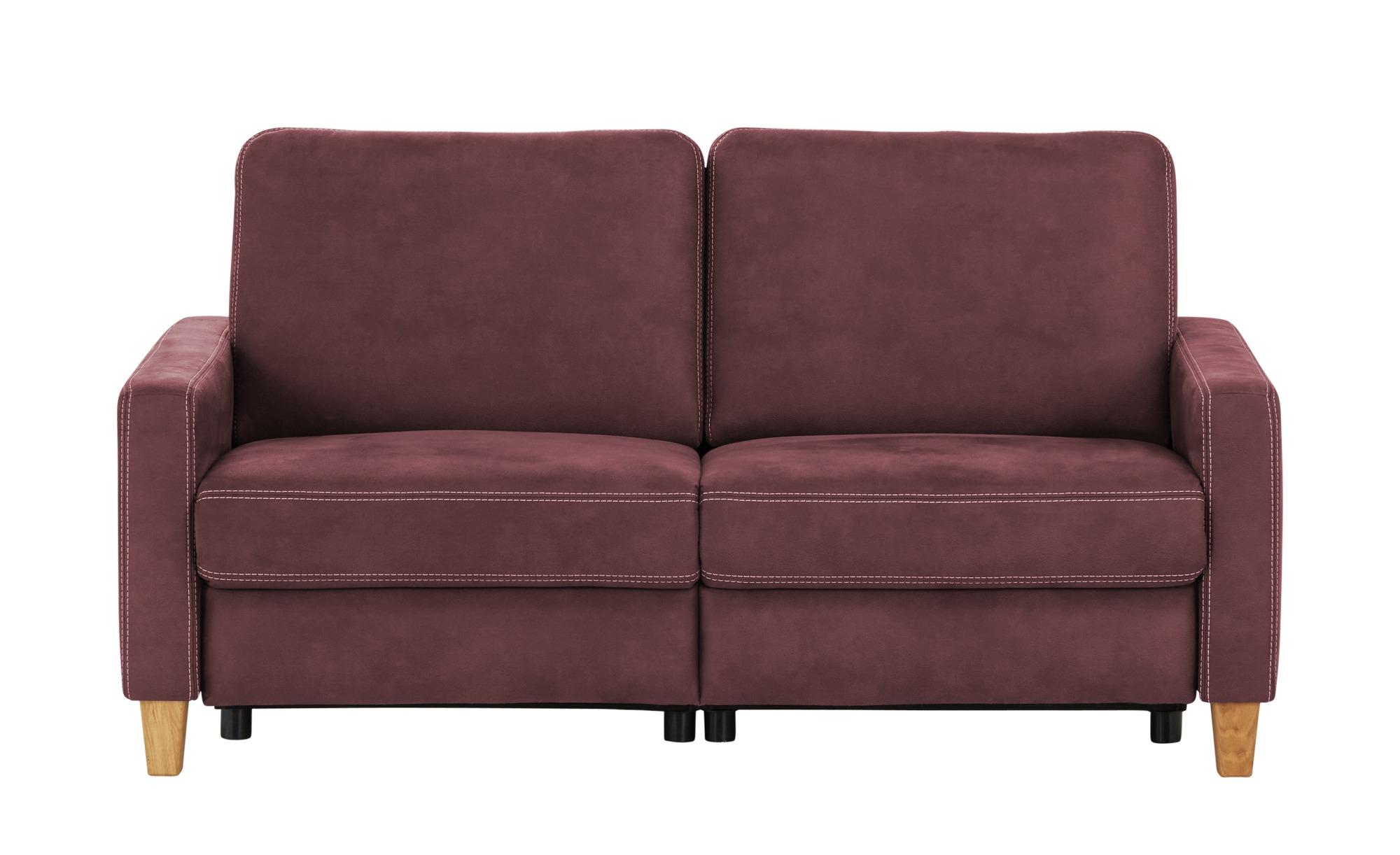 Max Schelling Einzelsofa  Maximum Plus ¦ rot ¦ Maße (cm): B: 174 H: 89 T: 96 Polstermöbel > Sofas > 3-Sitzer - Höffner