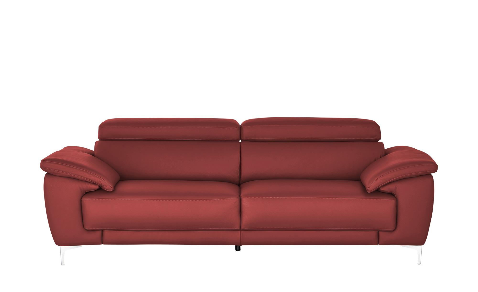 Max Schelling Einzelsofa  Vita ¦ rot ¦ Maße (cm): B: 236 H: 93 T: 105 Polstermöbel > Sofas > 3-Sitzer - Höffner