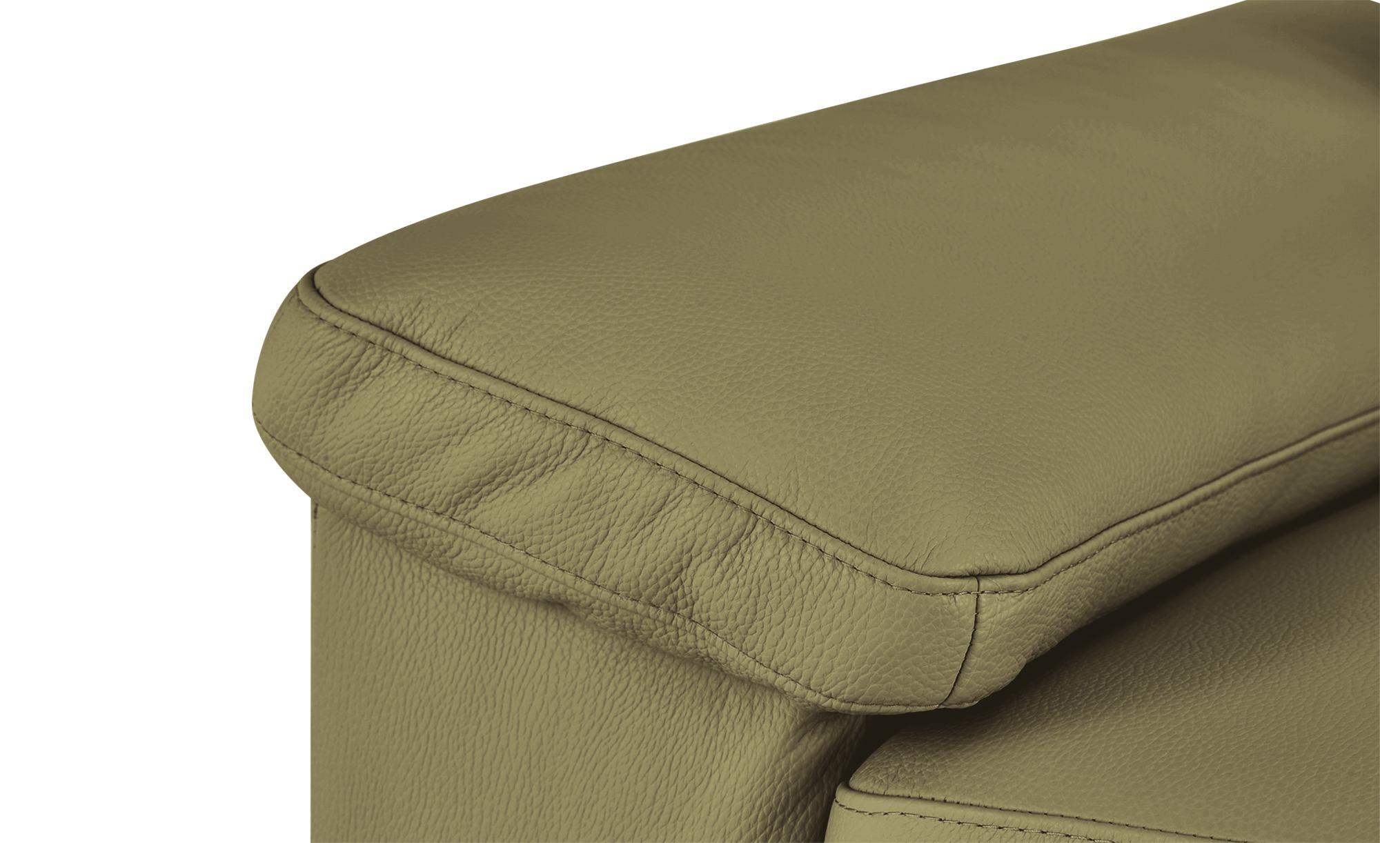 Max Schelling Ledersofa  Maximum ¦ grün ¦ Maße (cm): B: 184 H: 86 T: 97 Polstermöbel > Sofas > 2-Sitzer - Höffner