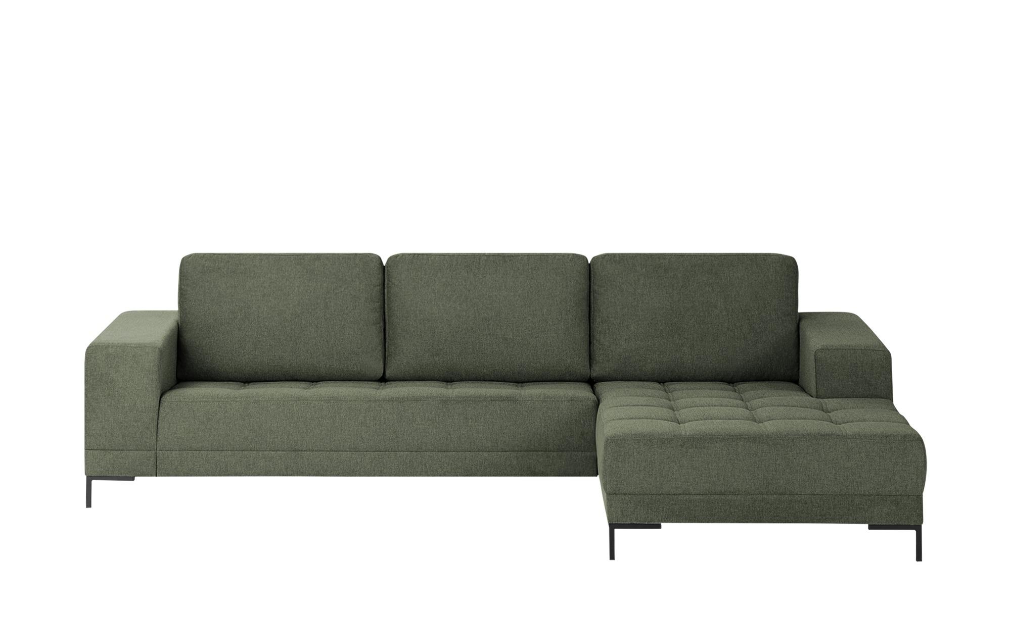 smart Ecksofa  Garda ¦ grün ¦ Maße (cm): H: 81 Polstermöbel > Sofas > Ecksofas - Höffner