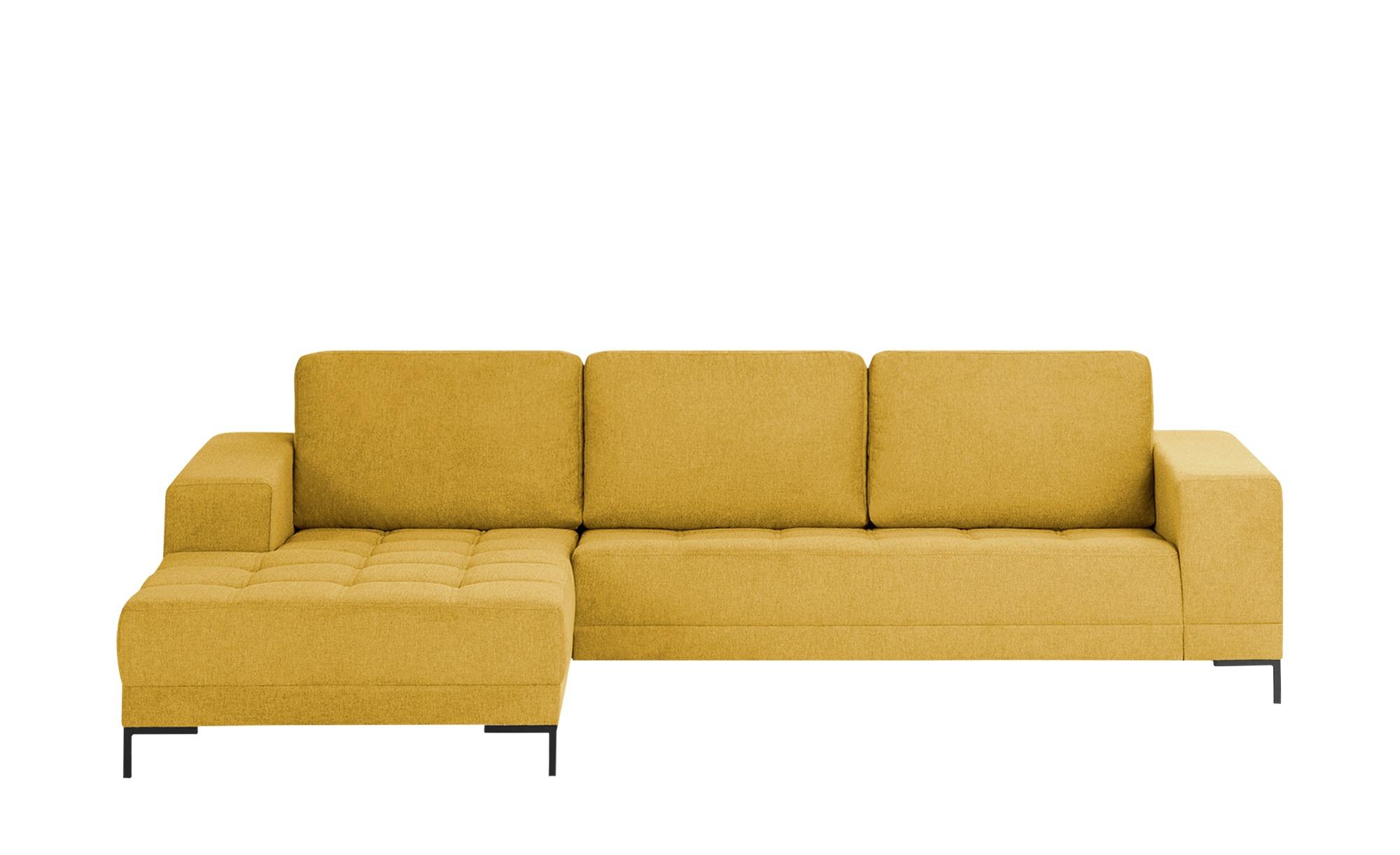 smart Ecksofa  Garda ¦ gelb ¦ Maße (cm): H: 81 Polstermöbel > Sofas > Ecksofas - Höffner