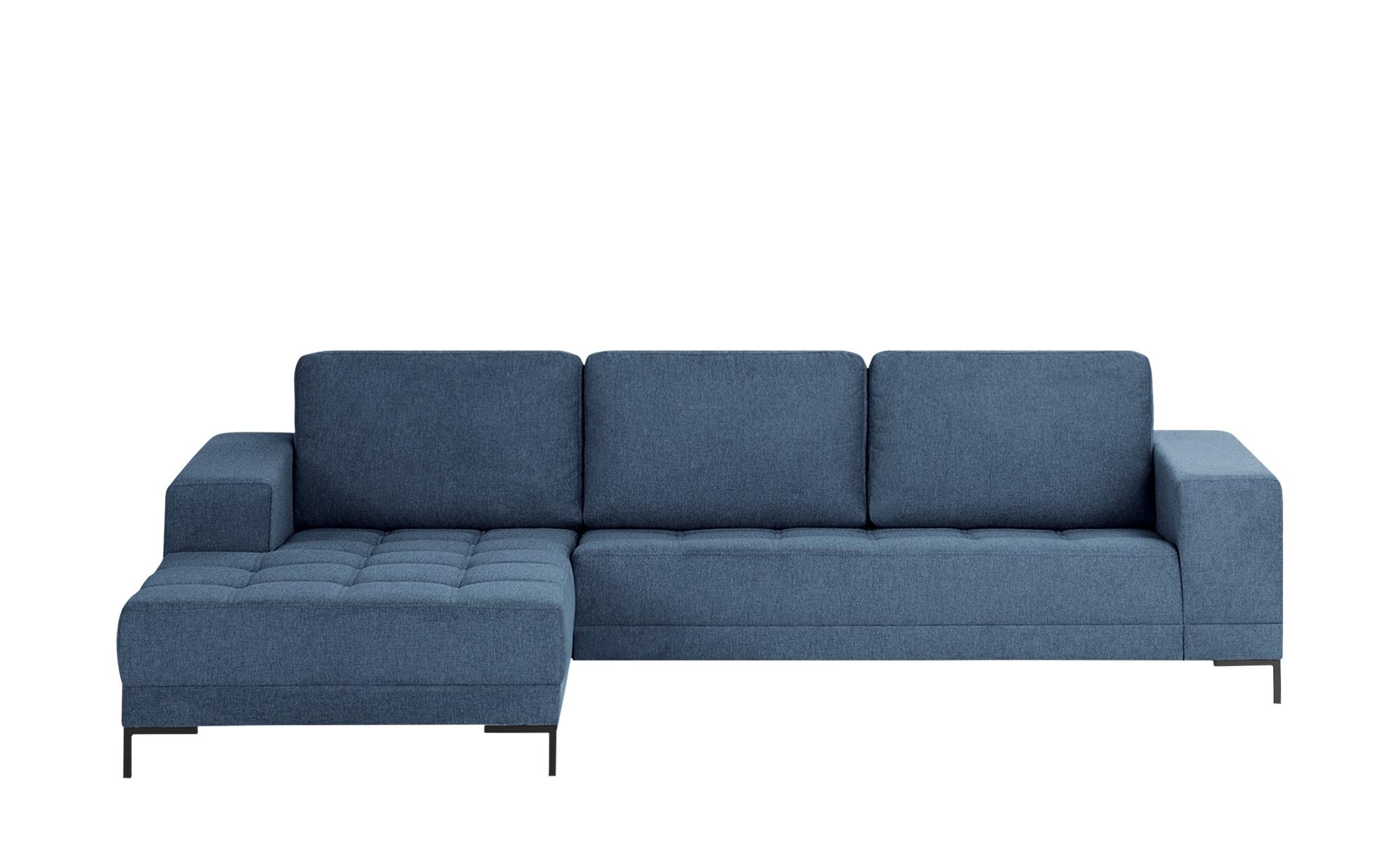 smart Ecksofa  Garda ¦ blau ¦ Maße (cm): H: 81 Polstermöbel > Sofas > Ecksofas - Höffner