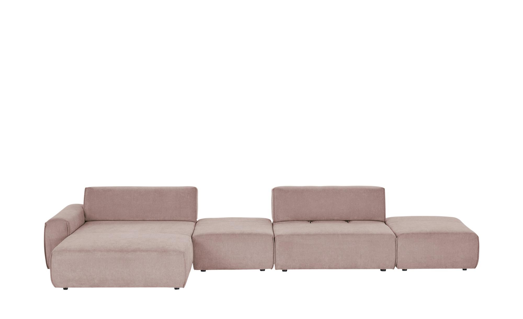 Max Schelling Ecksofa  Life ¦ rosa/pink ¦ Maße (cm): H: 74 Polstermöbel > Sofas > Ecksofas - Höffner