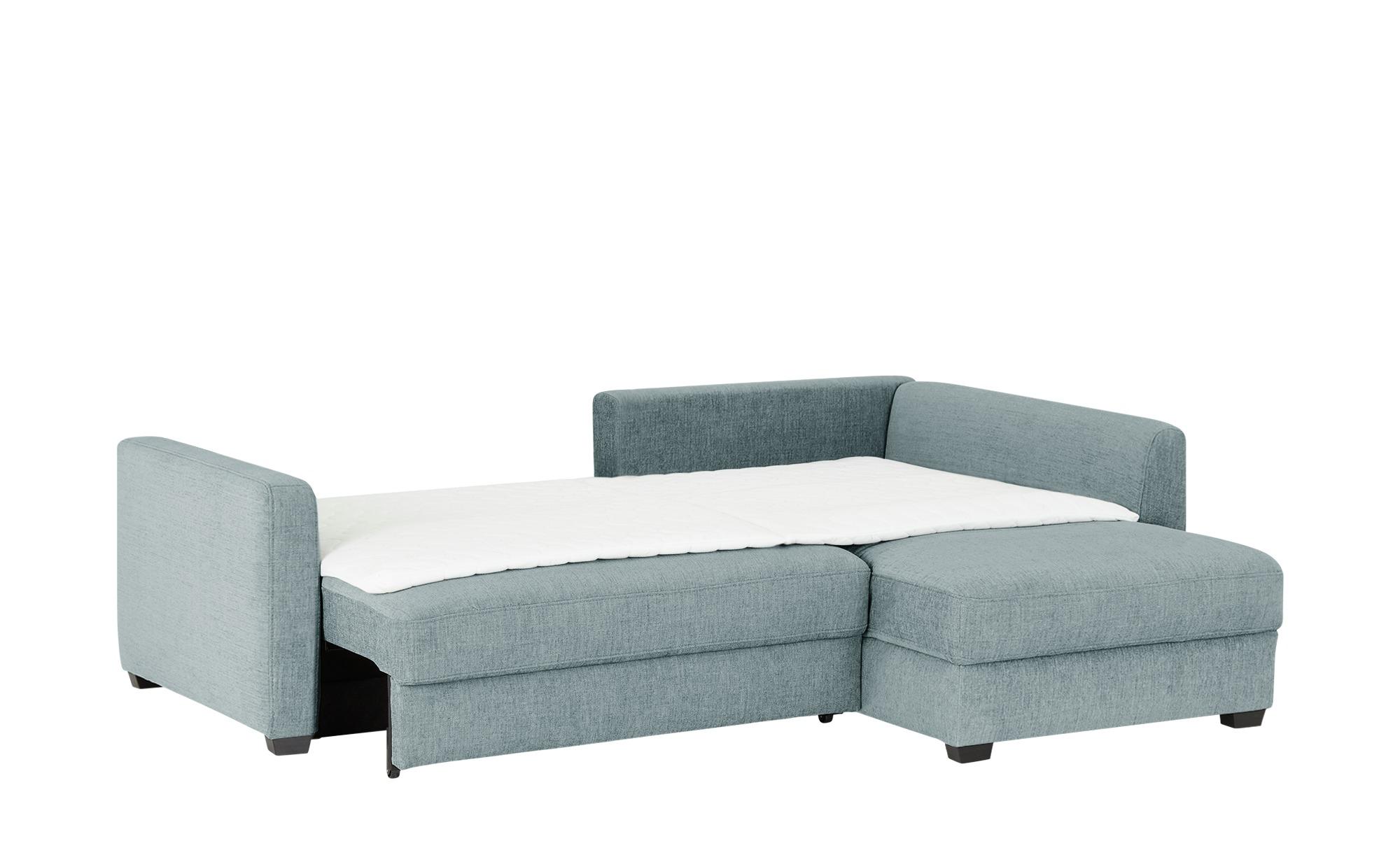 bobb   Lisa de Luxe ¦ blau ¦ Maße (cm): H: 90 Polstermöbel > Sofas > Ecksofas - Höffner